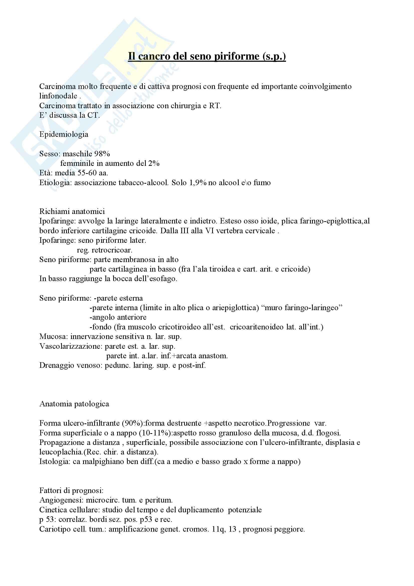appunto L. Rucci Otorinolaringoiatria