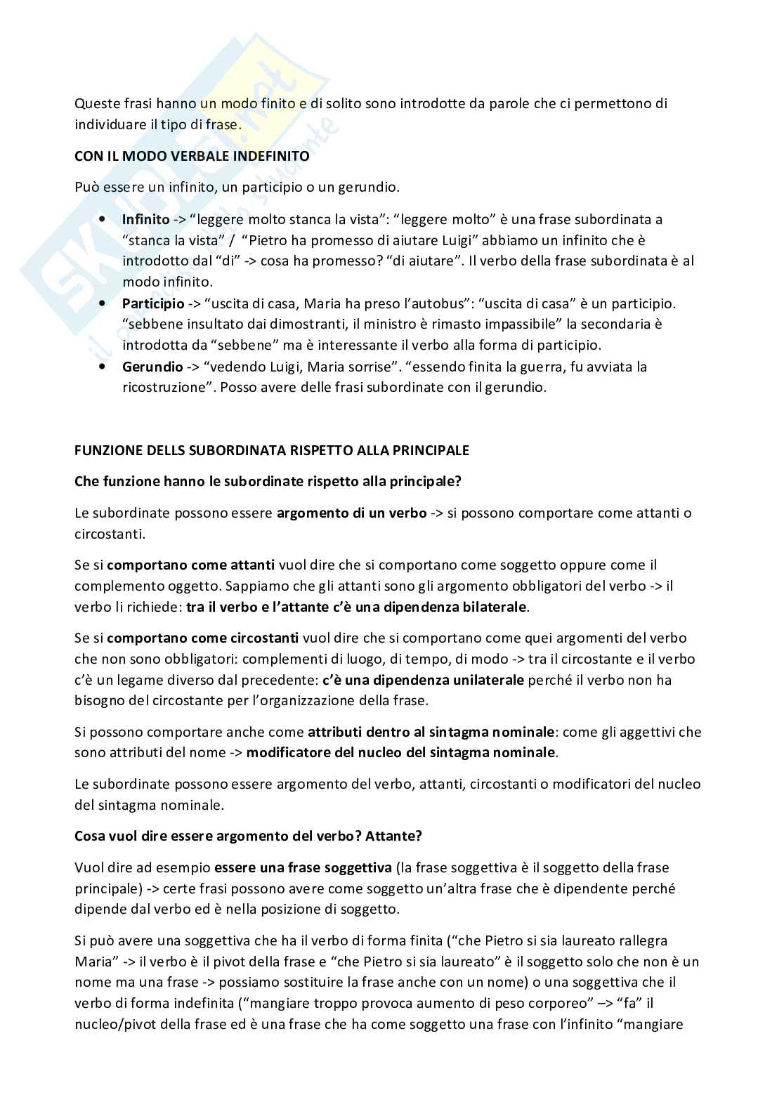 Linguistica generale - appunti Pag. 11