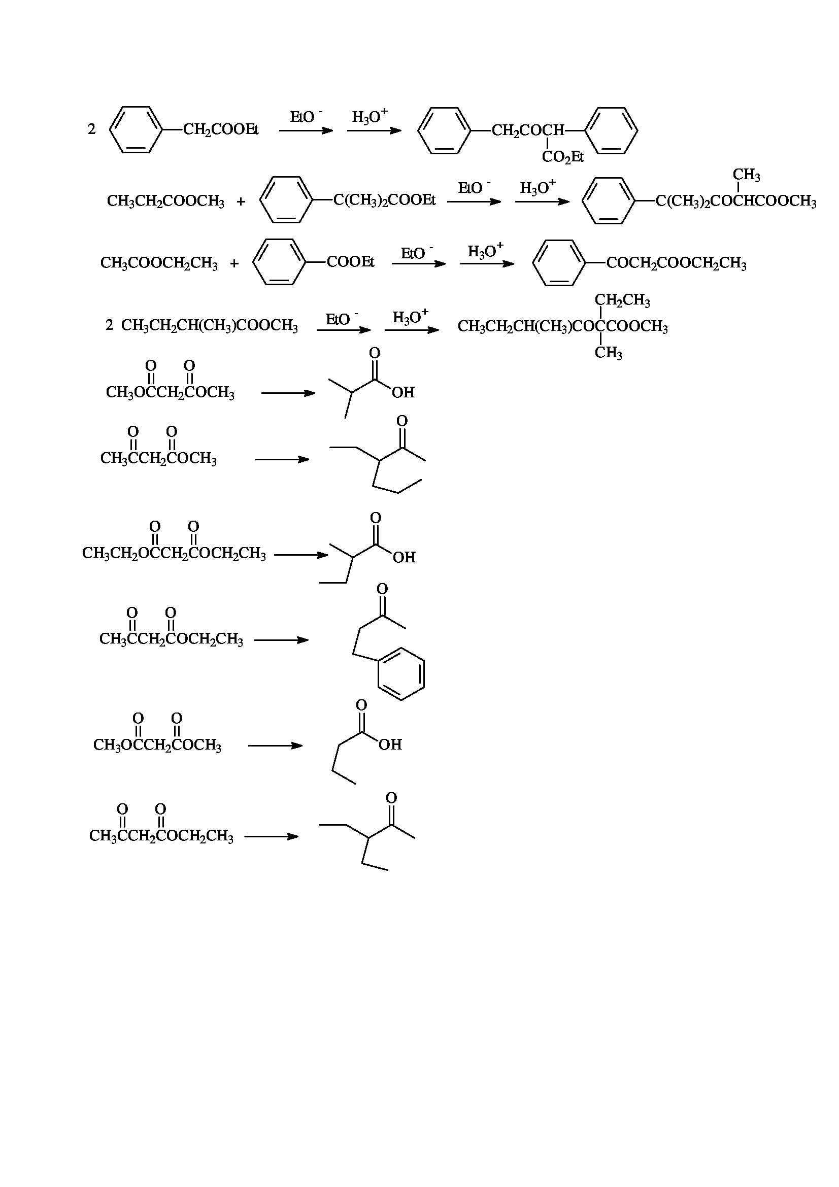 Chimica organica - Esercitazione