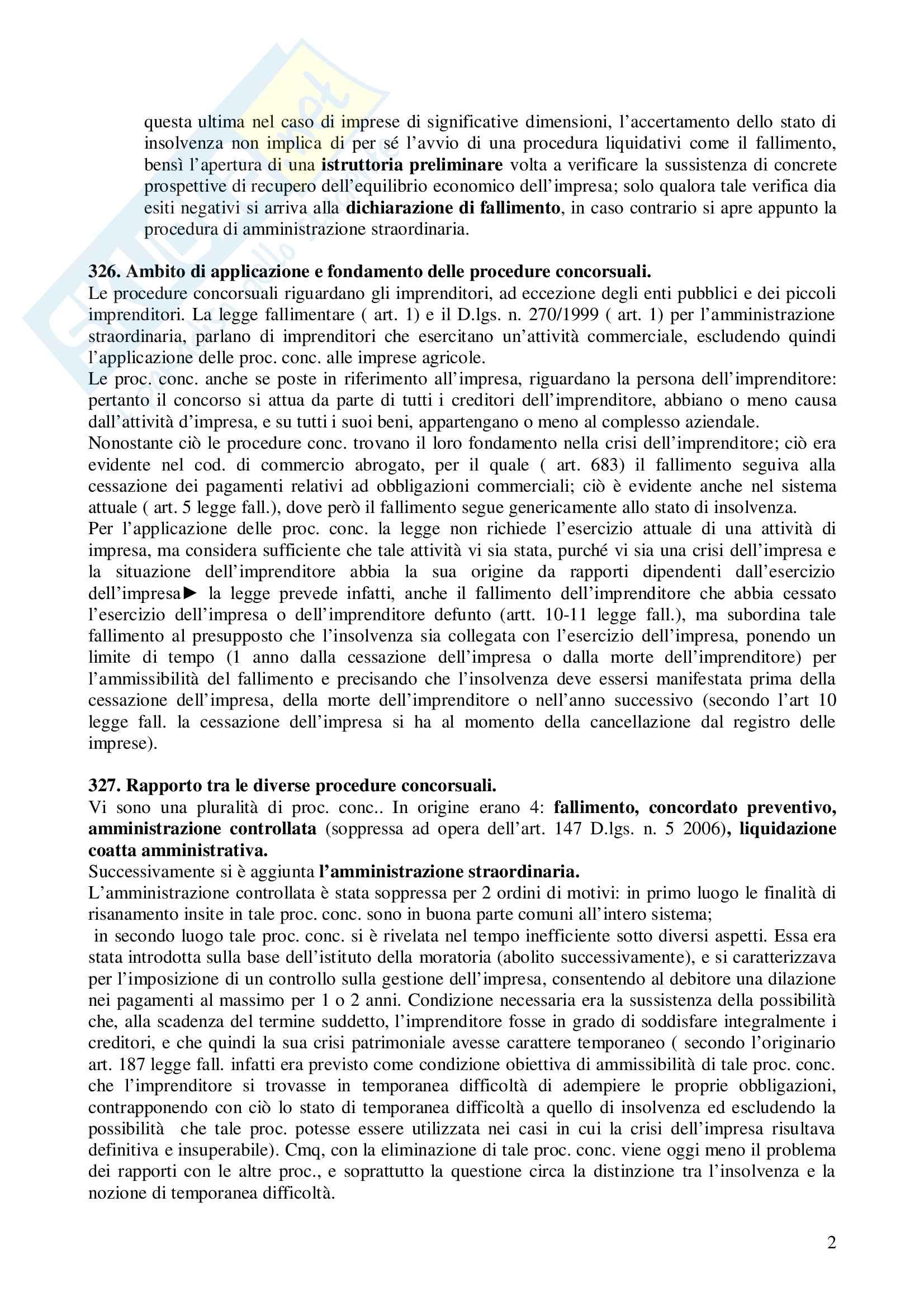 Riassunto esame Diritto Commerciale, prof. Terranova, libro consigliato Diritto Commerciale, Ferri Pag. 2