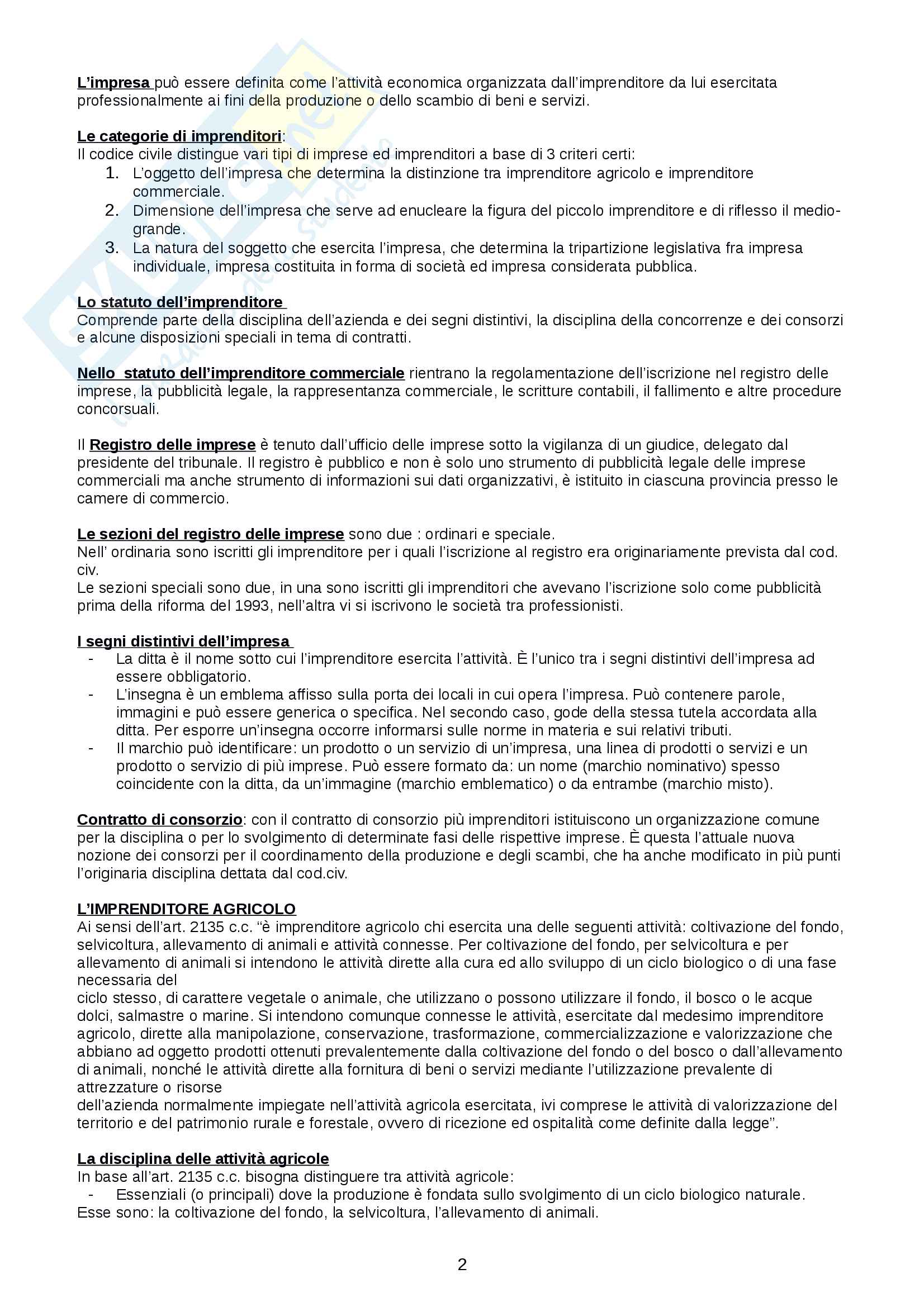 Diritto commerciale appunti Pag. 2