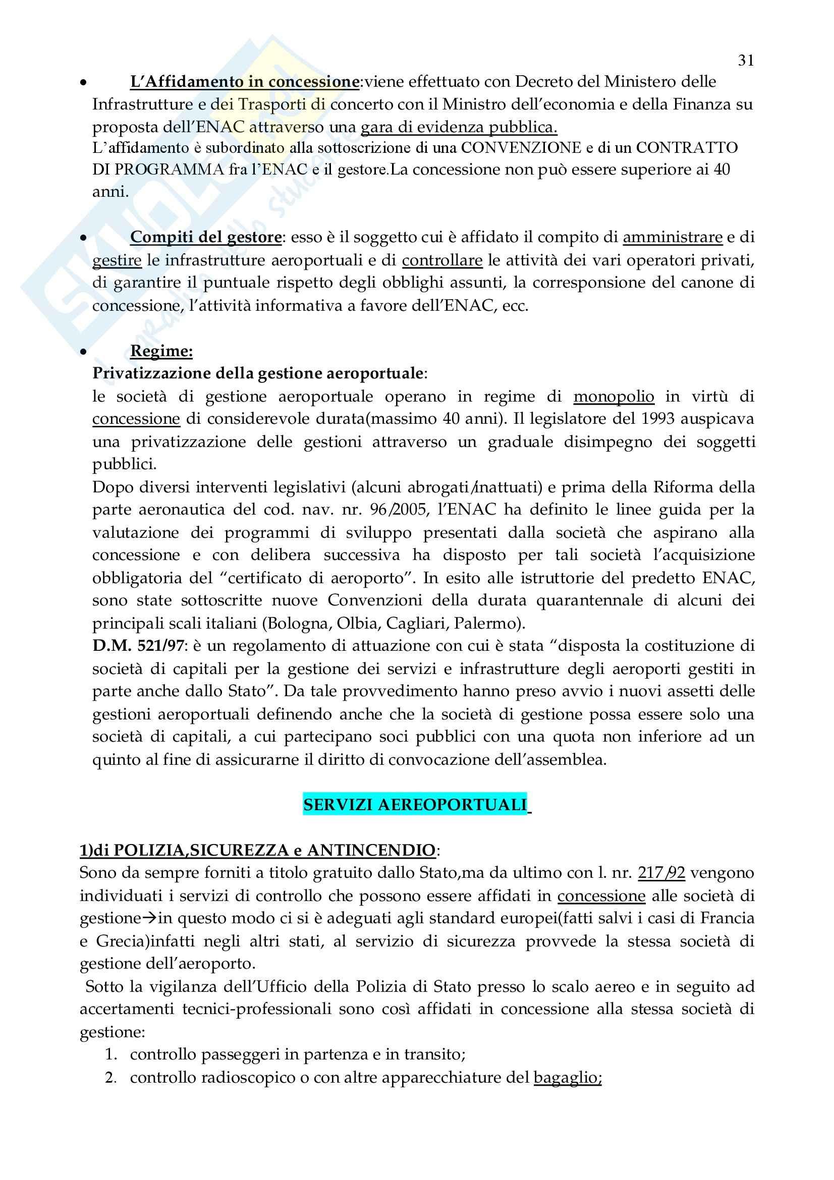 Diritto dei trasporti - Appunti Pag. 31
