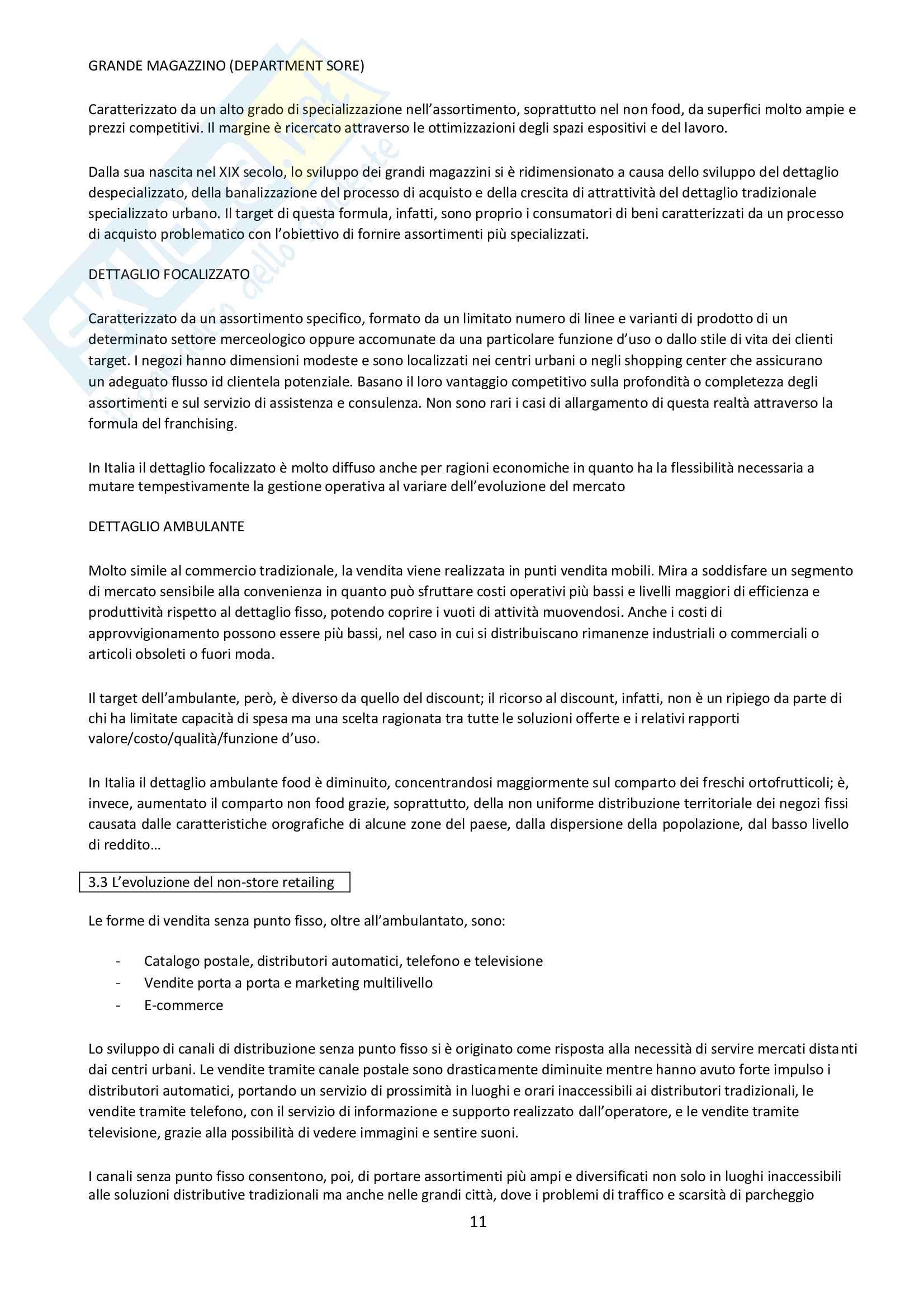 Marketing distributivo Pag. 11