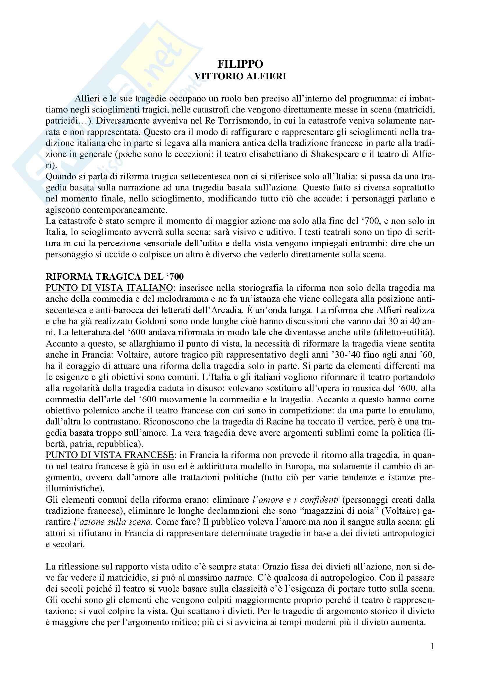 Letteratura teatrale italiana - Filippo