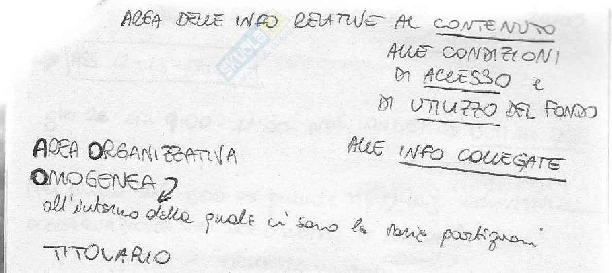 Archivistica - Aspetti generali Pag. 26