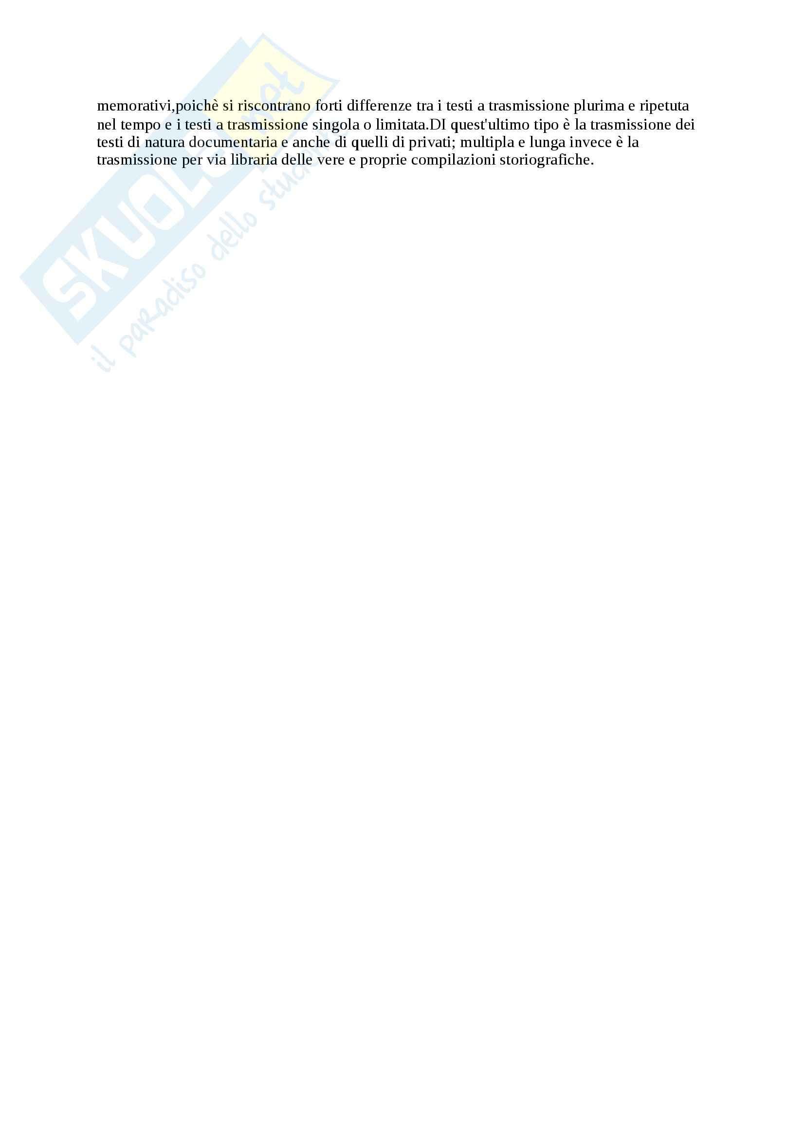 Riassunto esame Paleografia, prof. Ammirati, libro consigliato Prima Lezione di Paleografia, Petrucci Pag. 11
