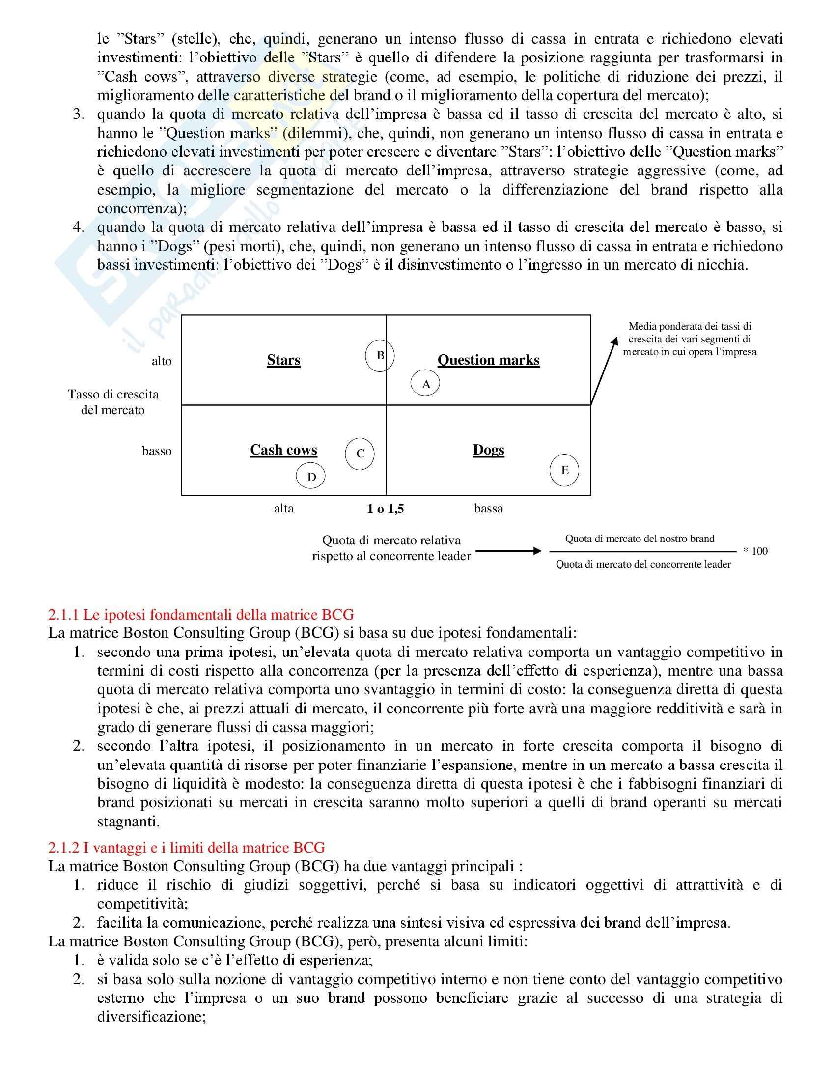 Strategie di marketing - Appunti Pag. 11