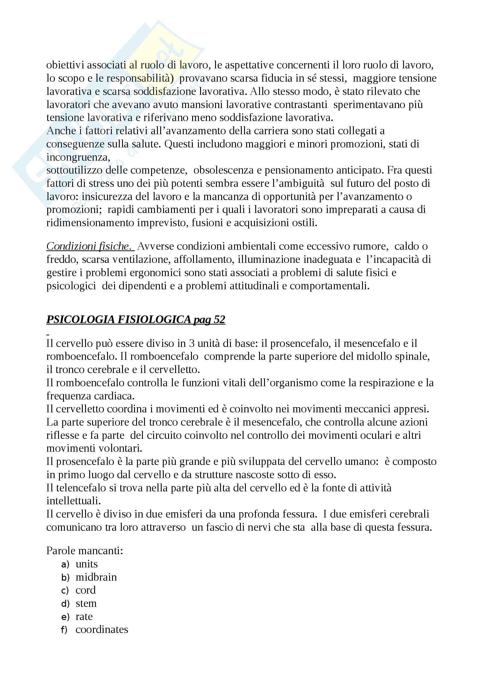 Inglese per la psicologia - traduzione testi Pag. 2