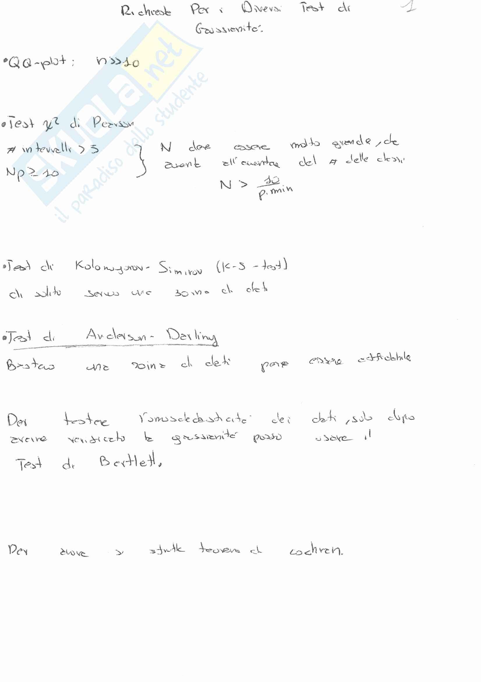 Teoria - modellistica e identificazione De santis