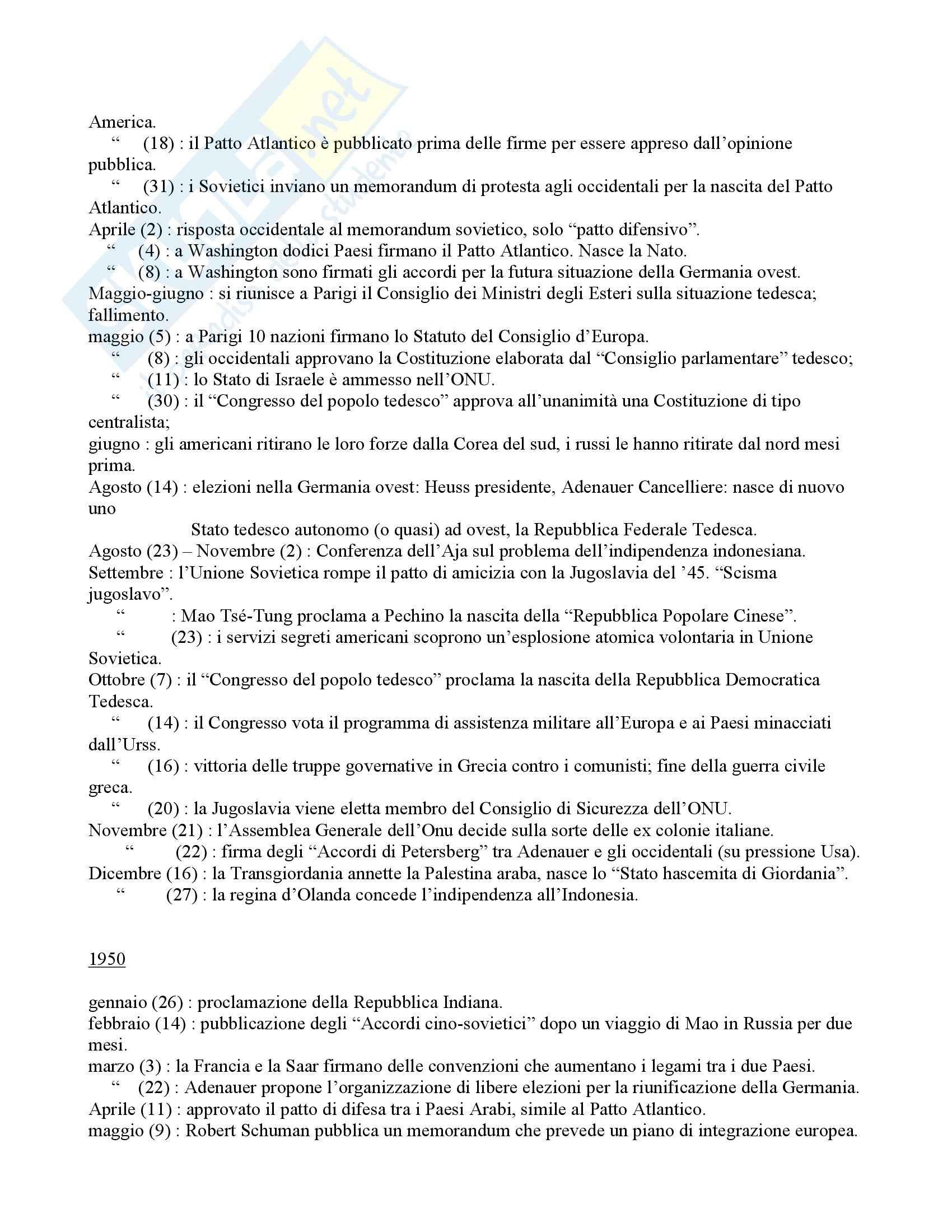Politica internazionale - storia diplomatica - Appunti Pag. 106