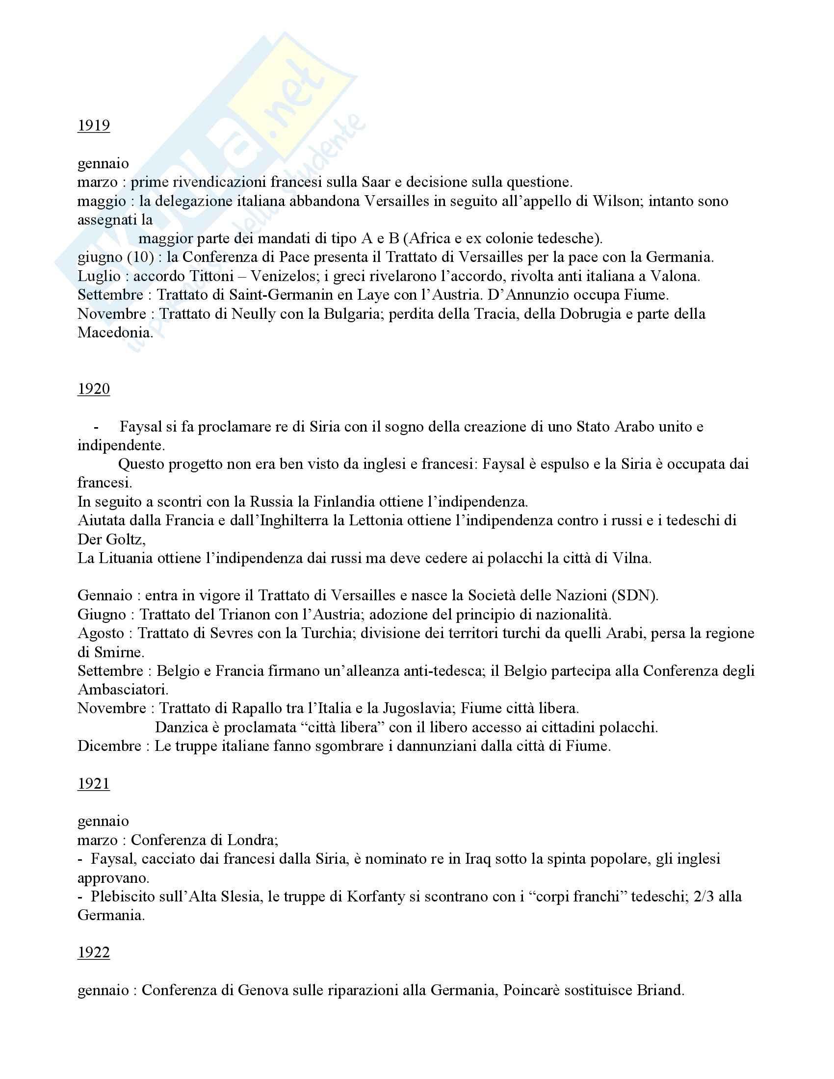Politica internazionale - storia diplomatica - Appunti Pag. 96