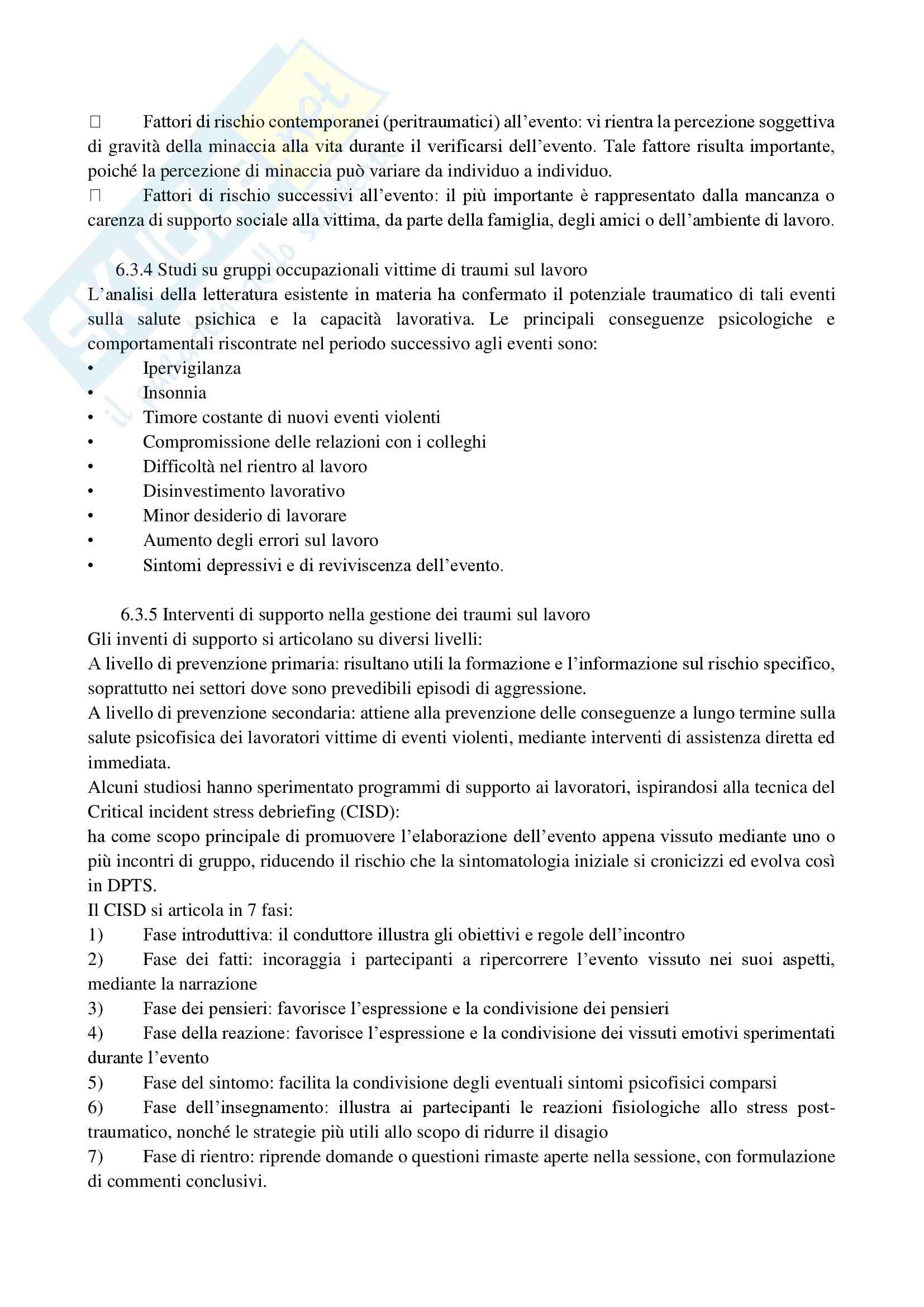 Riassunto esame di Medicina del Lavoro, prof. Menchinelli, libro consigliato Medicina del Lavoro, Bertazzi; capp. da studiare 1-4-5-6-11-17-18-19-20-21-22-23-25 Pag. 31