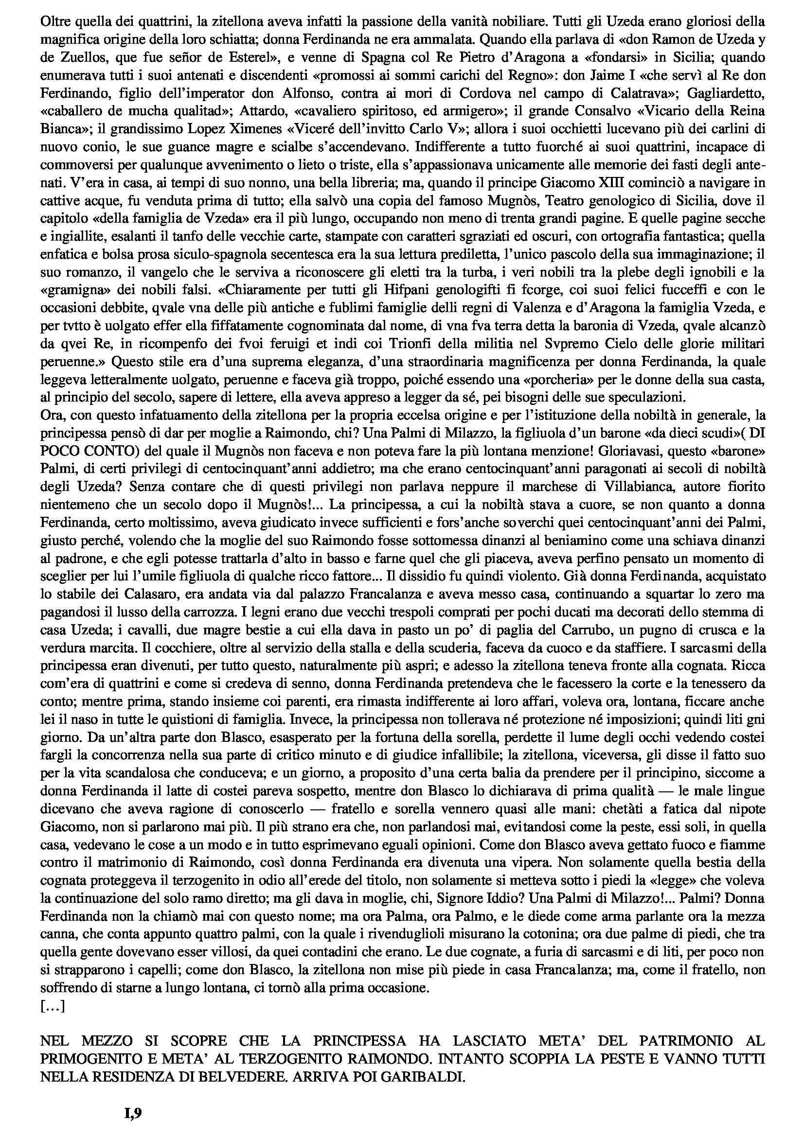 Letteratura italiana - De Roberto, Pirandello e Tommasi da Lampedusa Pag. 11