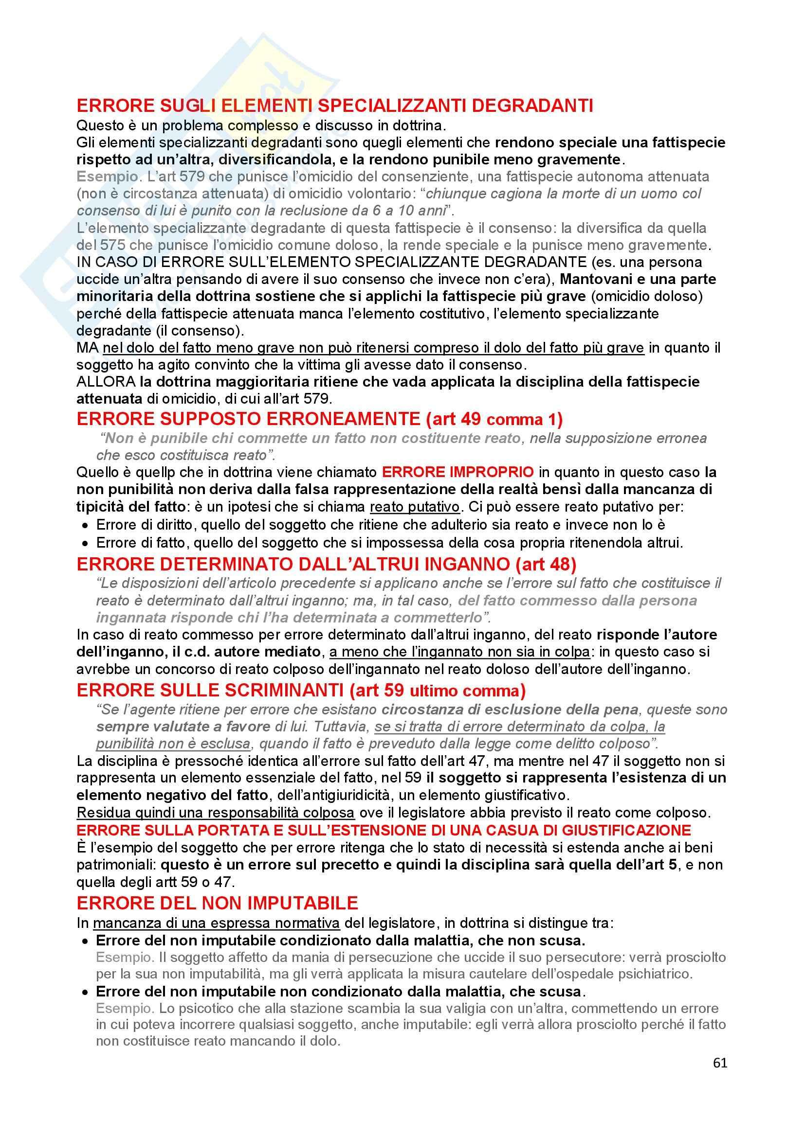 Diritto penale - Appunti Pag. 61