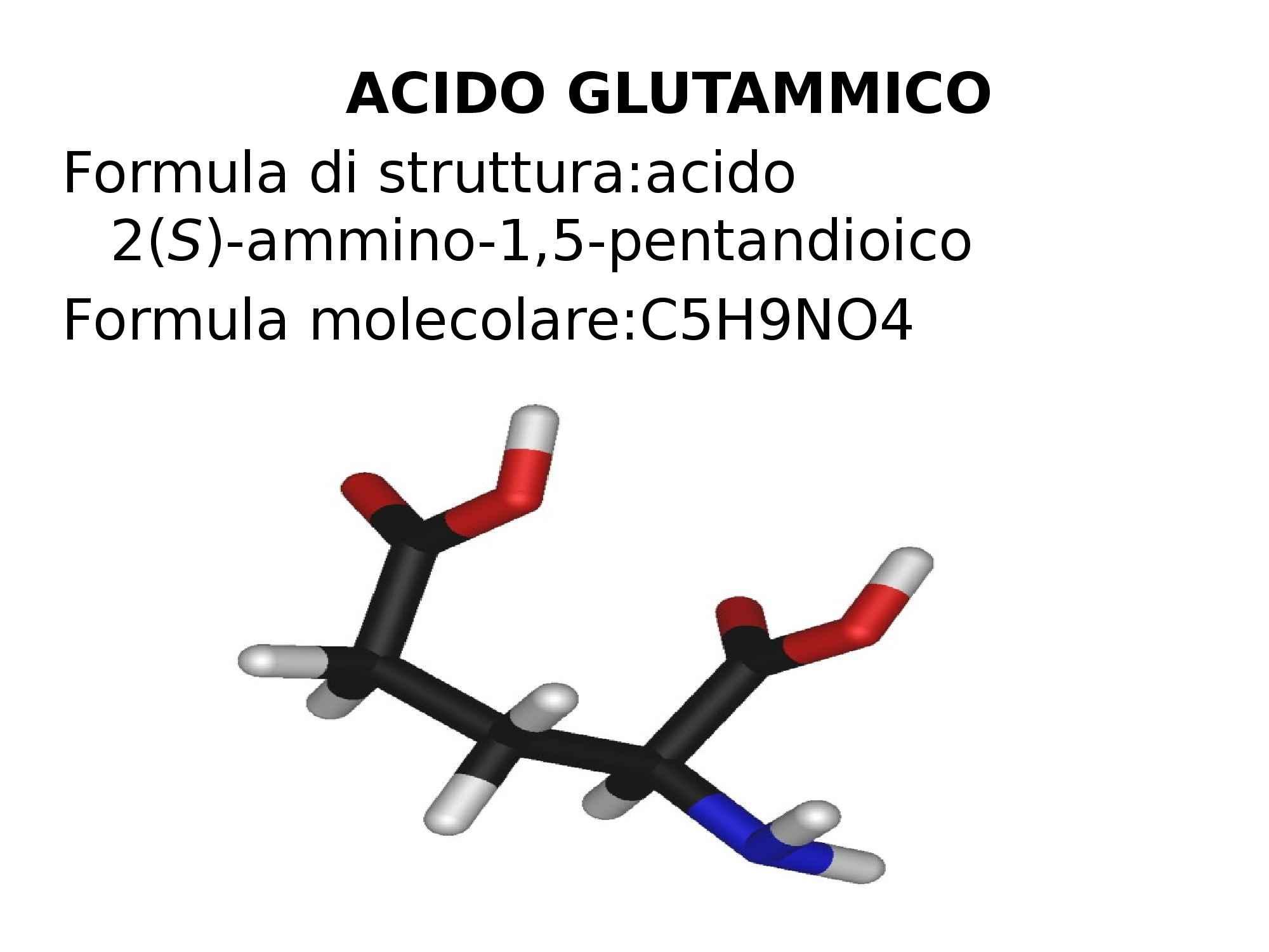 Chimica e biotecnologie della fermentazione - acido glutammico Pag. 2