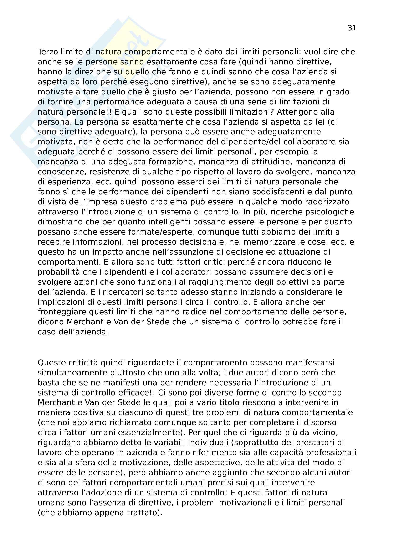 Programmazione e controllo Pag. 31