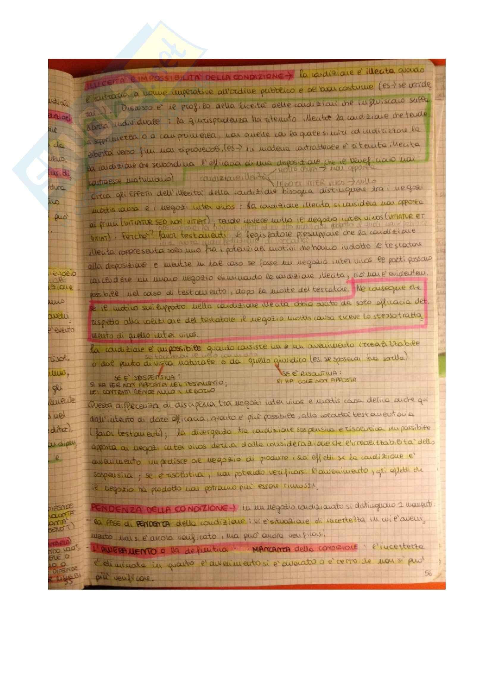Diritto privato - gli elementi accidentali del contratto Pag. 2