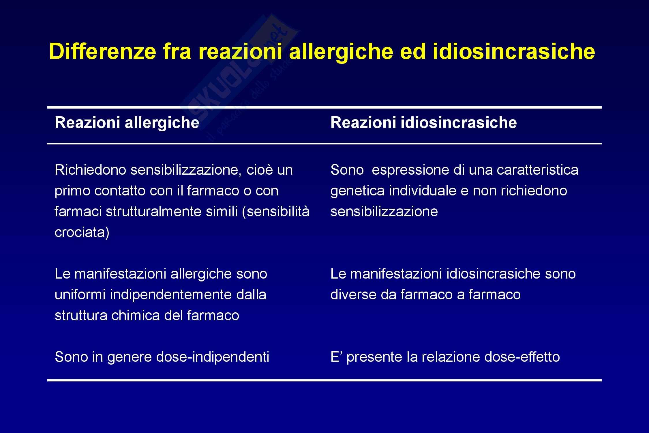 Farmacovigilanza, reazioni avverse Pag. 26