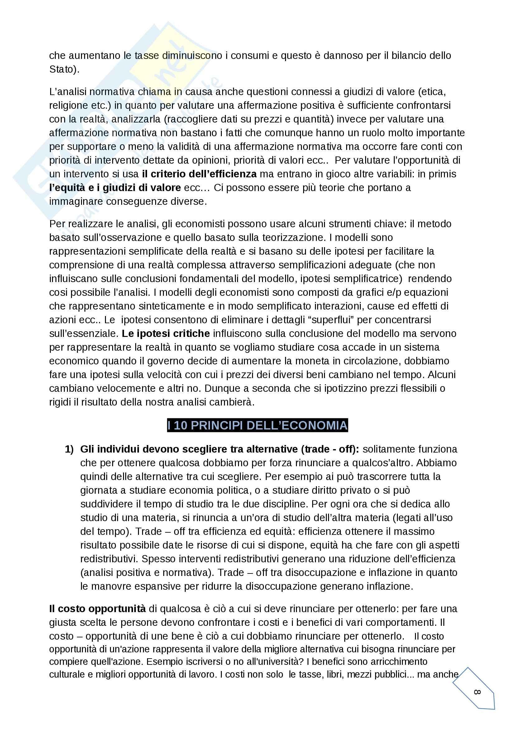 Appunti di economia politica Pag. 2
