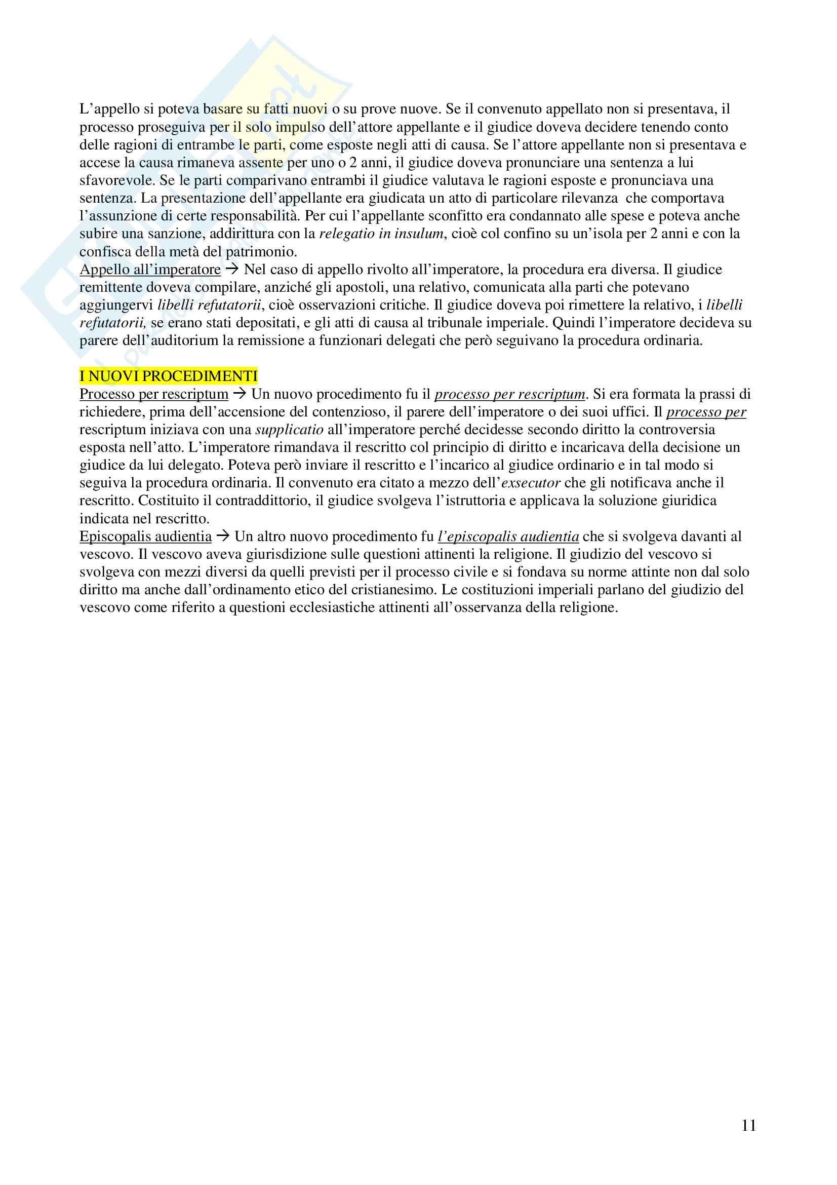 Storia del diritto privato romano - Appunti Pag. 11
