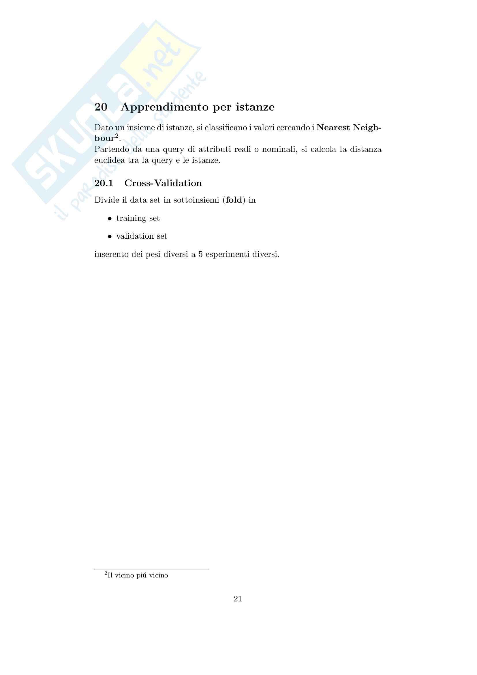 Data mining Pag. 21