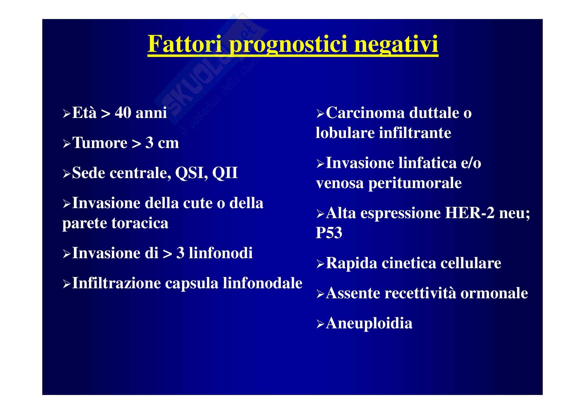 Cancro della mammella Pag. 26