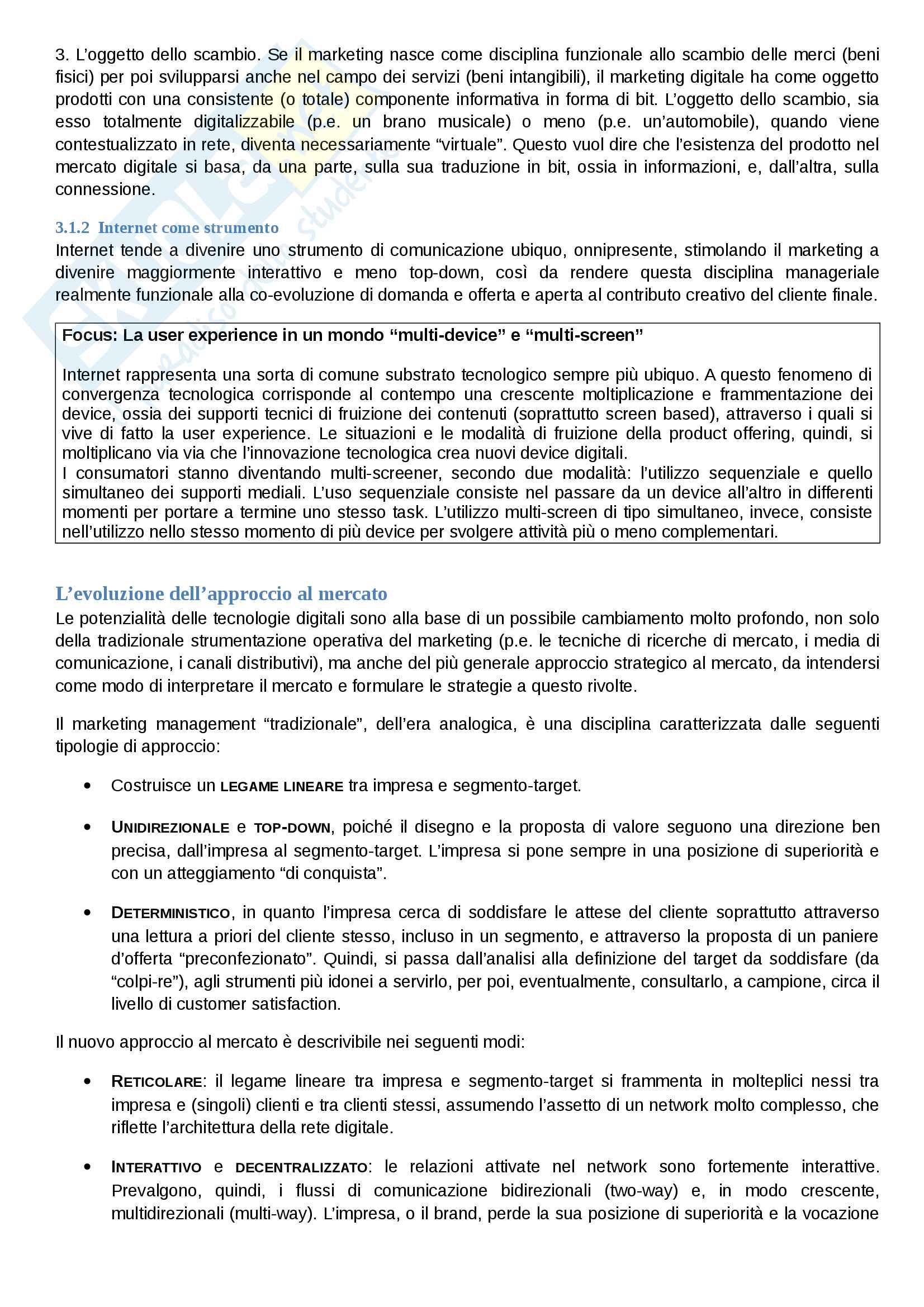 Riassunto esame Comunicazione Aziendale, prof. Cavallone, libro consigliato Marketing: il Management orientato al mercato, Mattiacci e Pastore Pag. 2