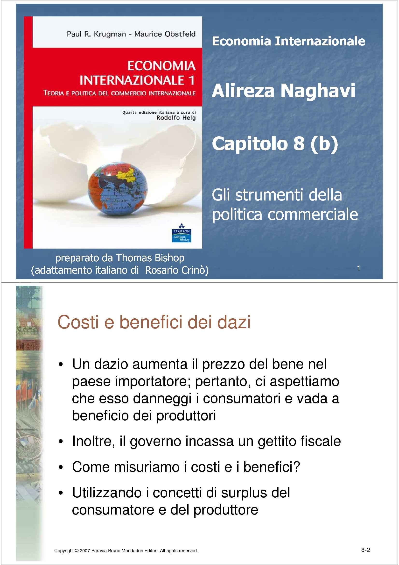 dispensa A. Naghavi Economia internazionale