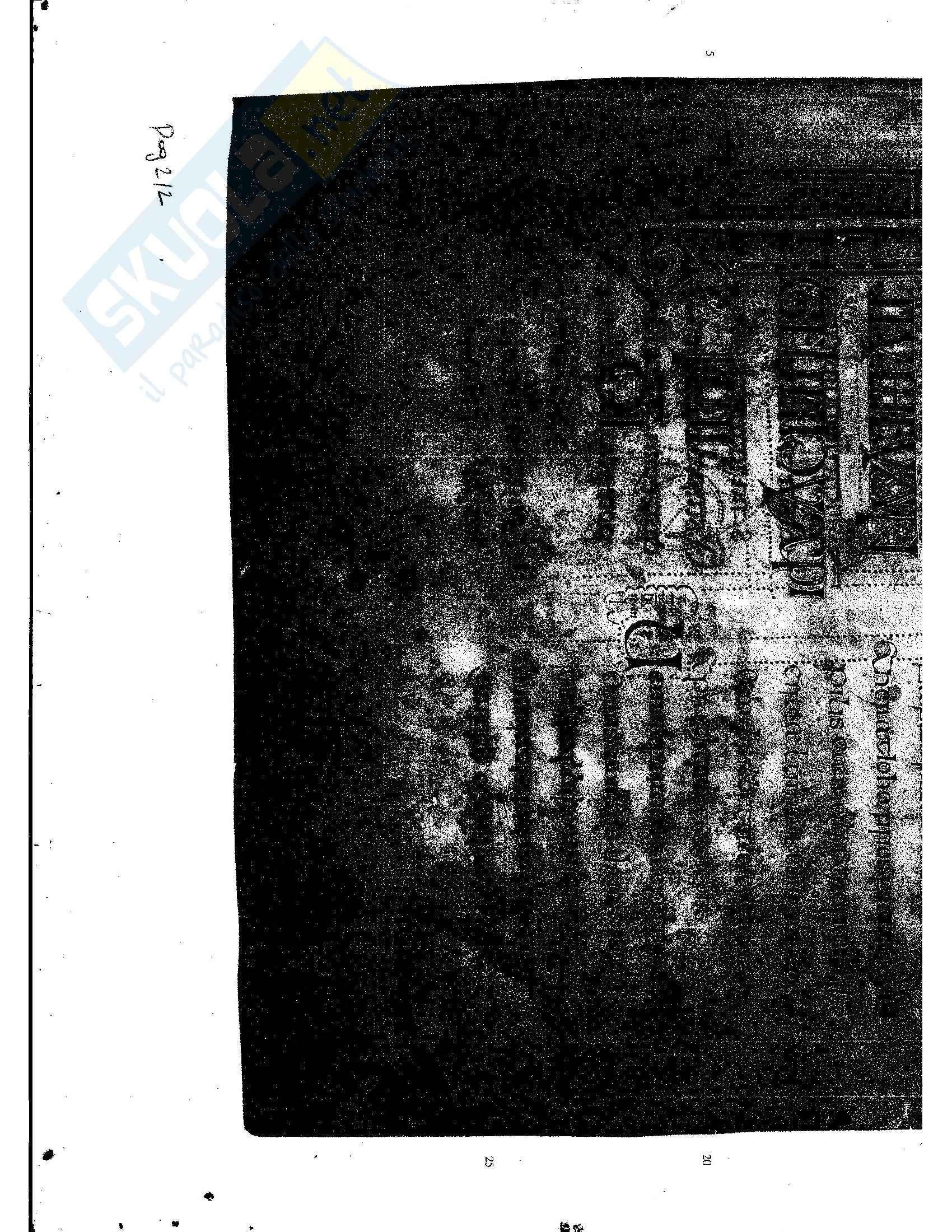 Tavole di esercitazione, Paleografia latina e diplomatica Pag. 16