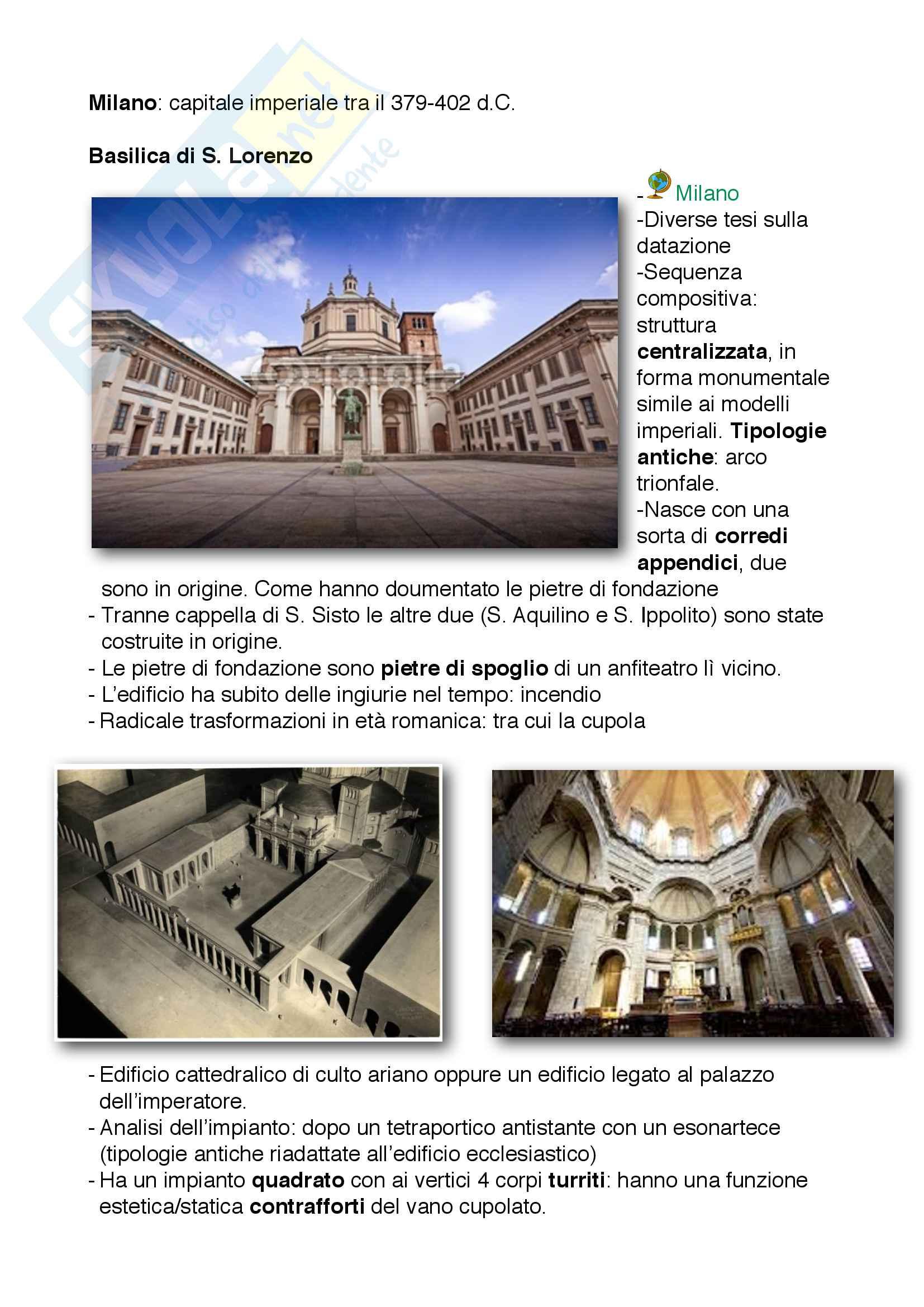 appunto F. Testa Storia dell'architettura