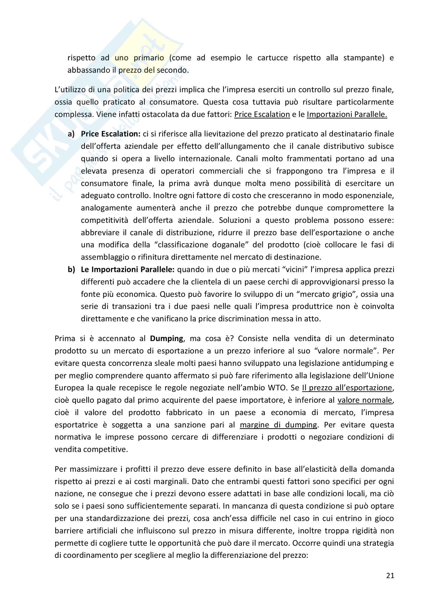 Riassunti Economia e Gestione delle Imprese Internazionali Pag. 21