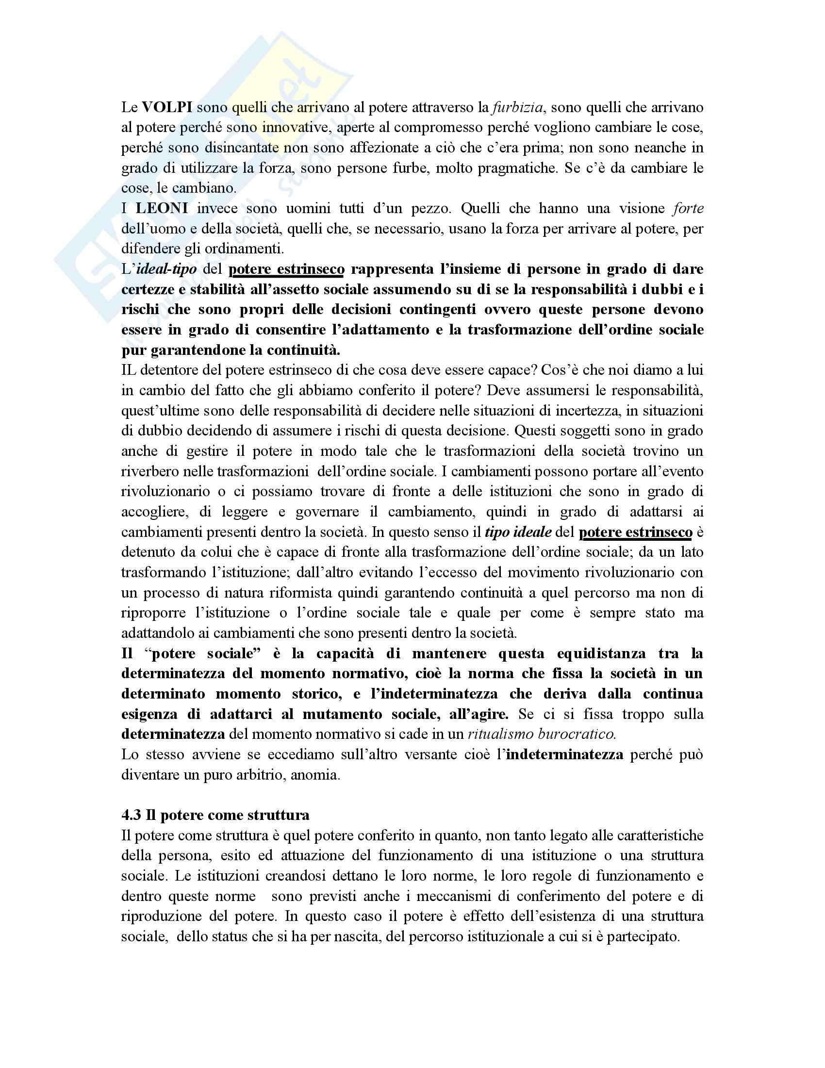 Sociologia politica - nozioni generali - Appunti Pag. 21