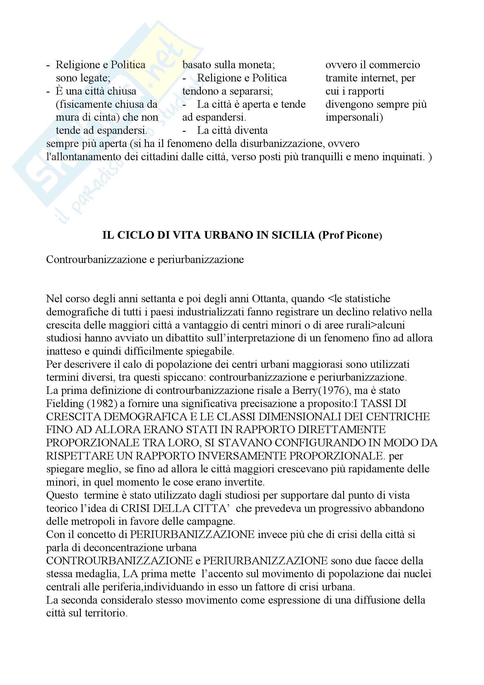 Geografia e processi territoriali - Appunti Pag. 6