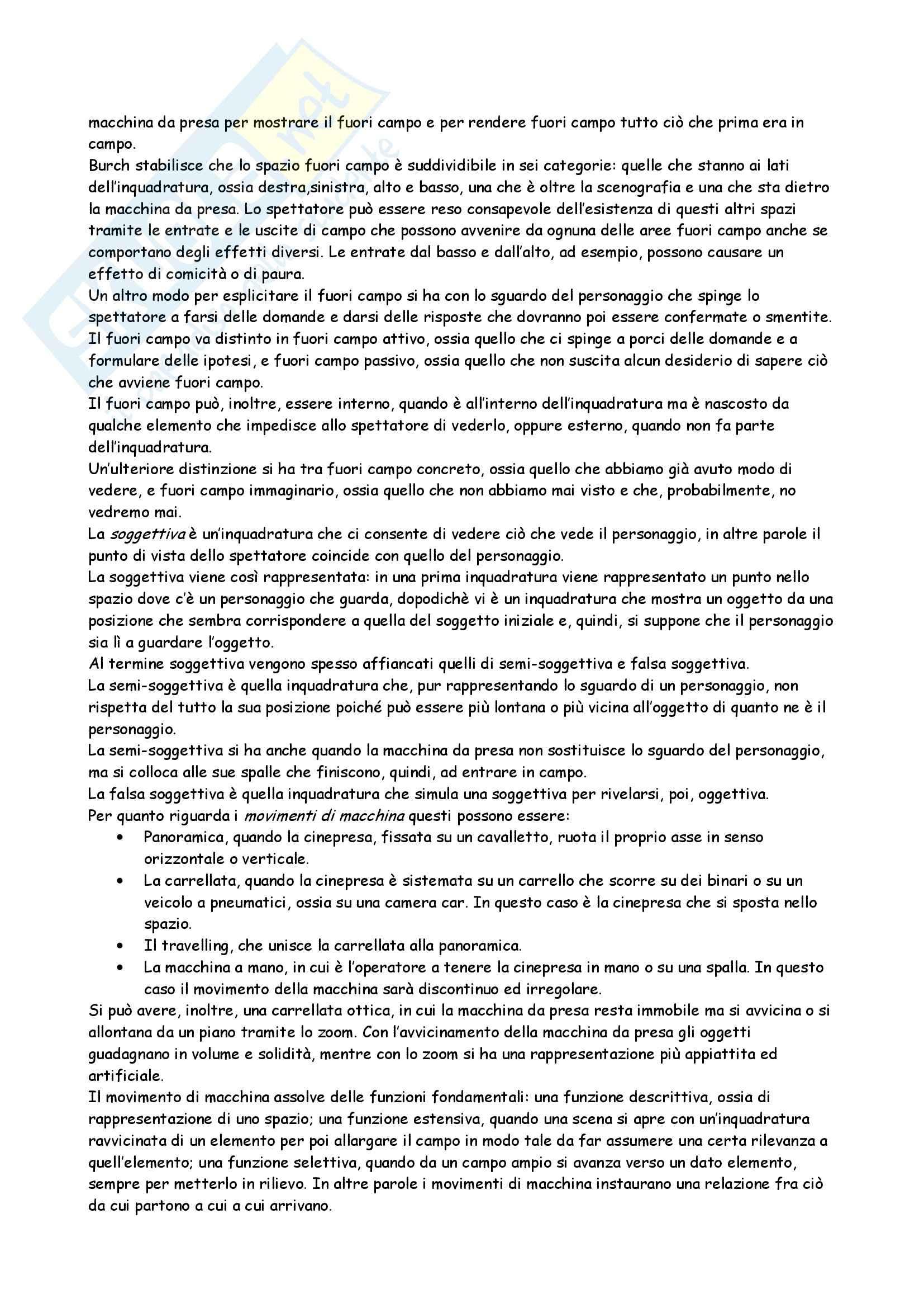 Linguaggi cinematografici e televisivi - il soggetto cinematografico Pag. 6