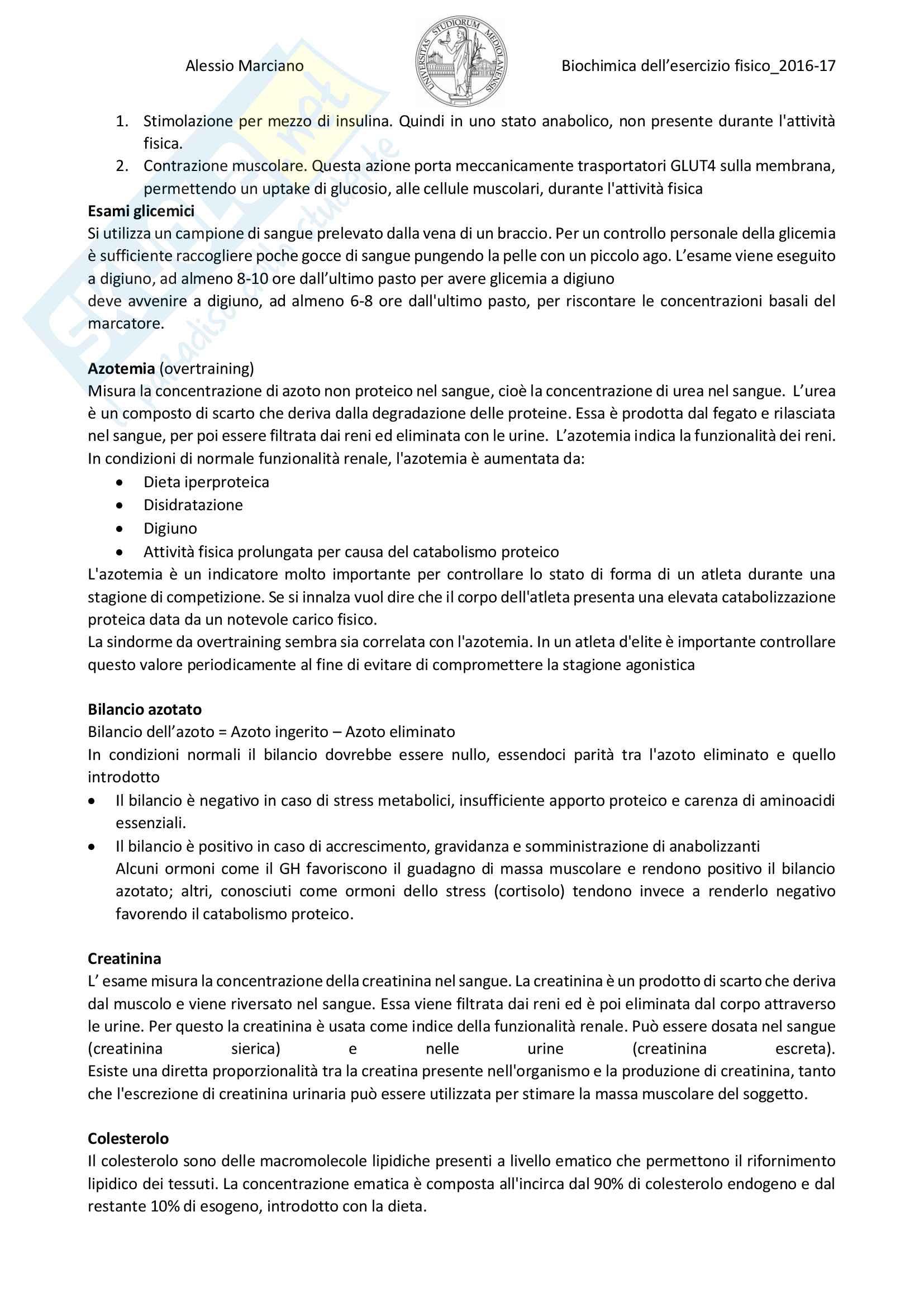 Biochimica clinica 2016/17 Pag. 6