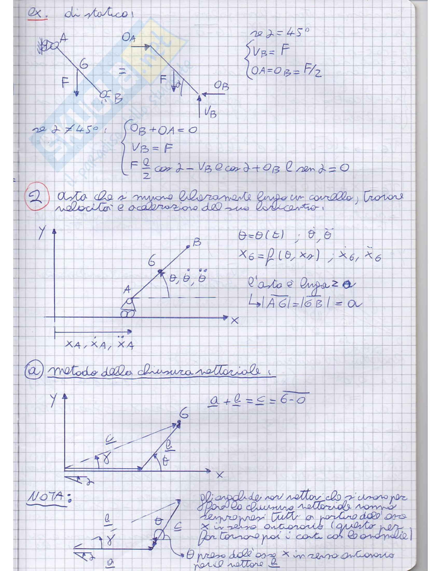 Meccanica applicata alle macchine - Appunti Pag. 31