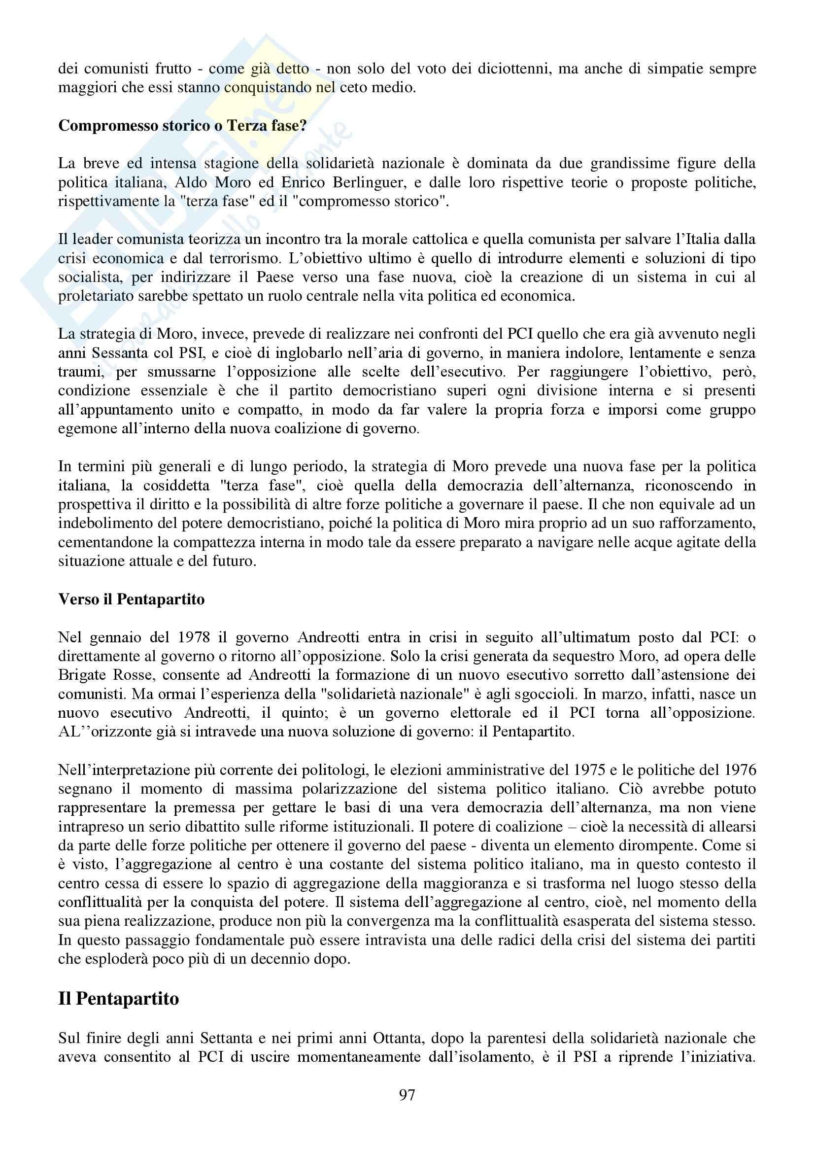 Riassunto esame Storia Contemporanea, prof. Conti, libro consigliato Ottocento e Novecento, Sabbattucci, Vidotto Pag. 96