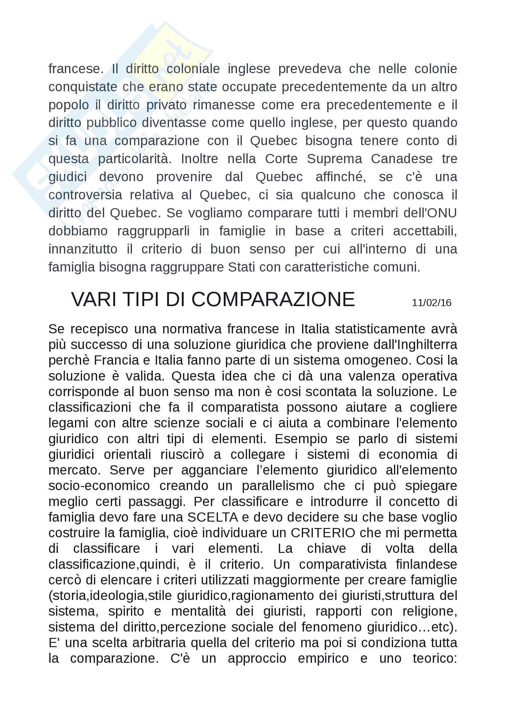 Sistemi Giuridici Comparati Pag. 141