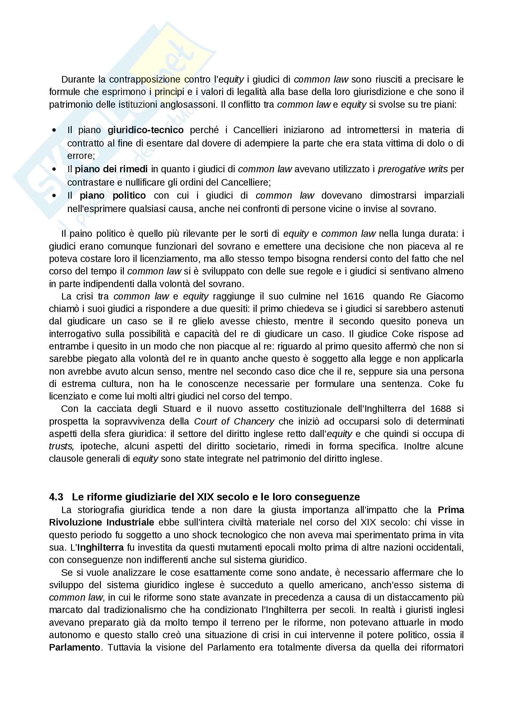Riassunto esame Sistemi Giuridici Comparati, Prof. Pier Filippo Giuggioli, Libro Consigliato Sistemi Giuridici Comparati Pag. 16
