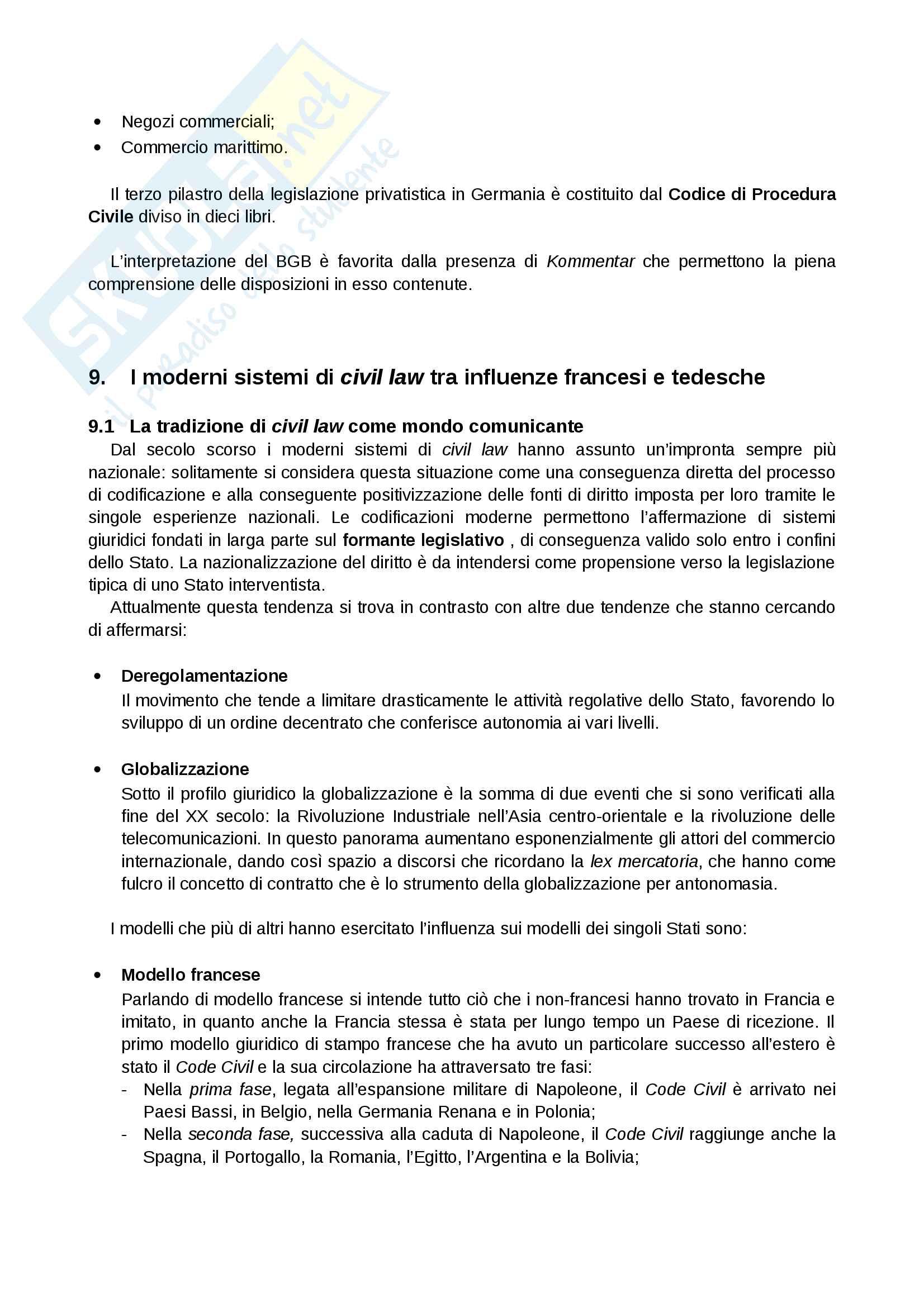 Riassunto esame Sistemi Giuridici Comparati, Prof. Pier Filippo Giuggioli, Libro Consigliato Sistemi Giuridici Comparati Pag. 41