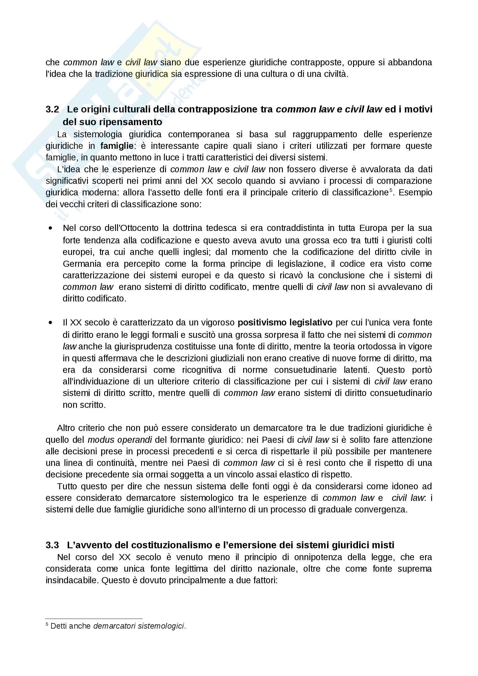 Riassunto esame Sistemi Giuridici Comparati, Prof. Pier Filippo Giuggioli, Libro Consigliato Sistemi Giuridici Comparati Pag. 6