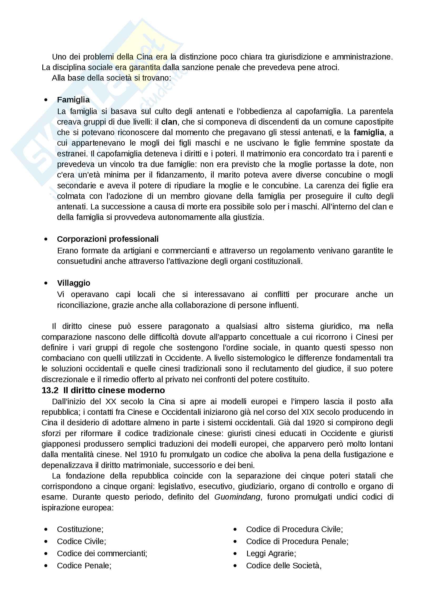 Riassunto esame Sistemi Giuridici Comparati, Prof. Pier Filippo Giuggioli, Libro Consigliato Sistemi Giuridici Comparati Pag. 61