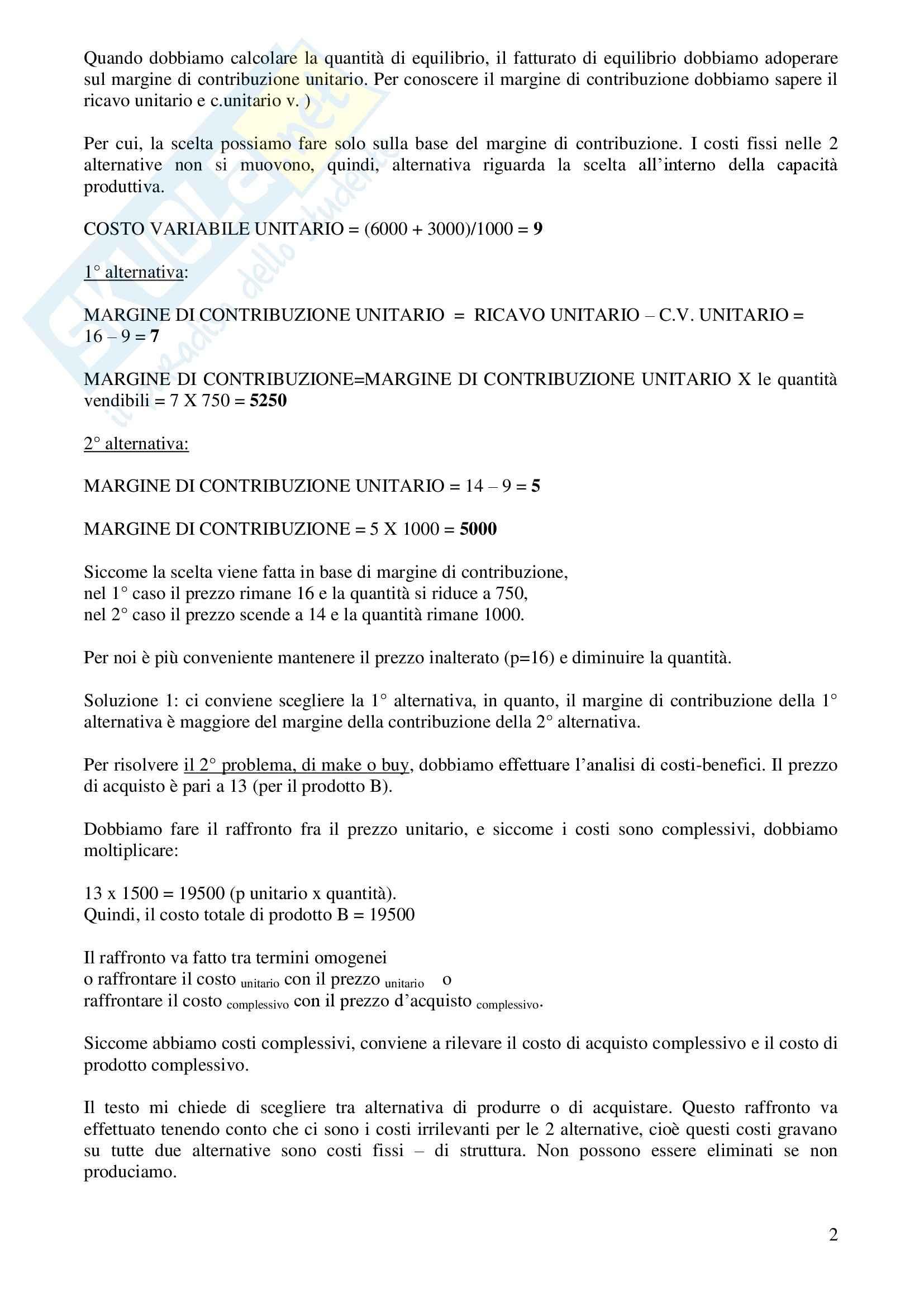 Contabilità generale e analitica - Appunti Pag. 2