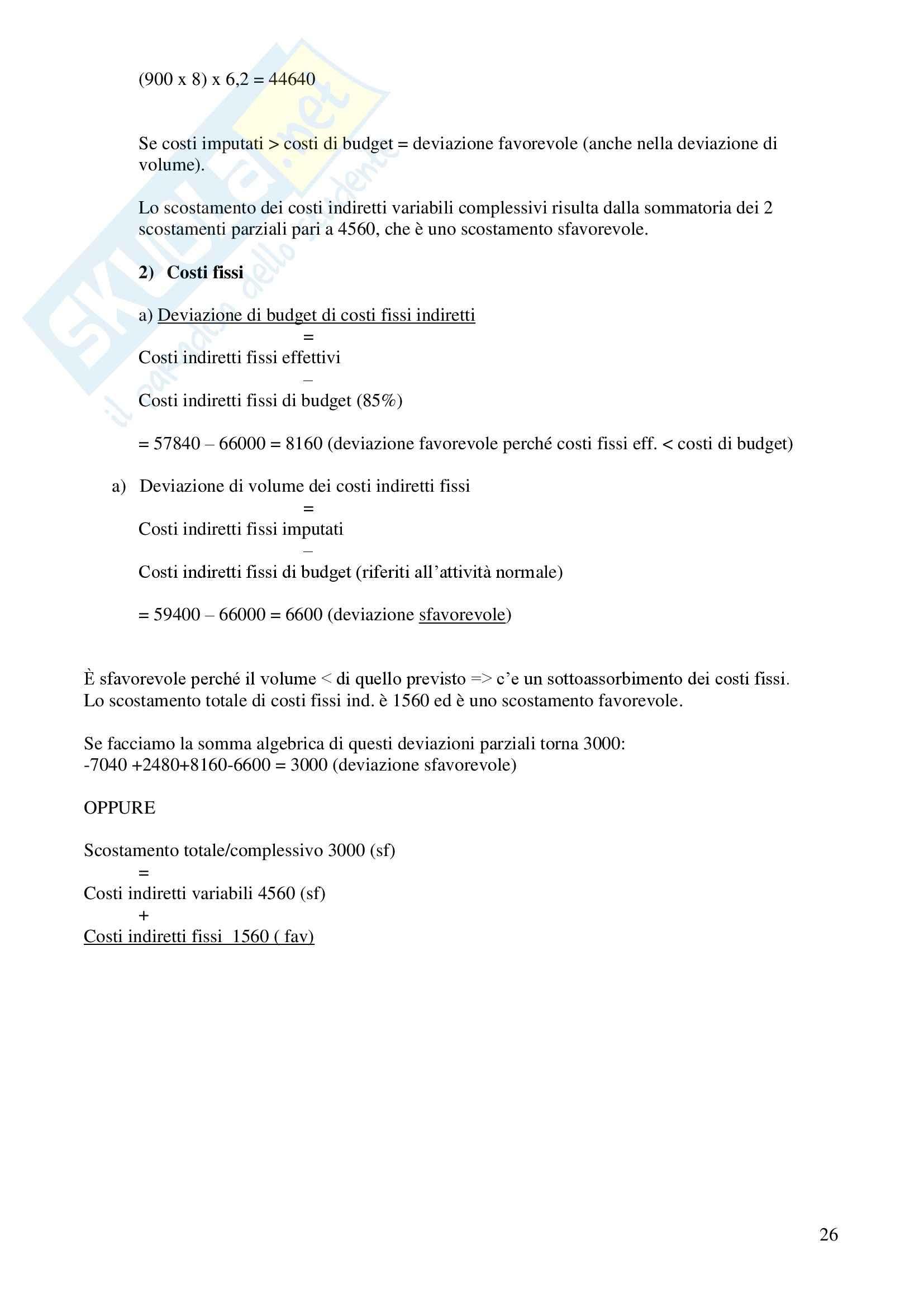 Contabilità generale e analitica - Appunti Pag. 26