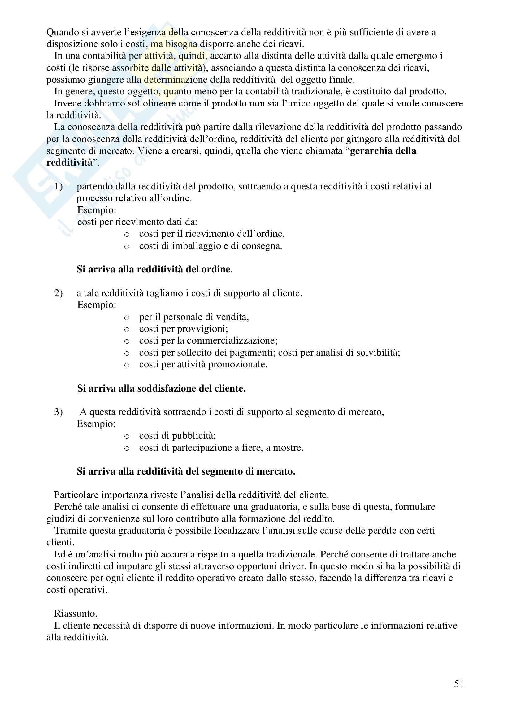 Contabilità generale e analitica - Appunti Pag. 51
