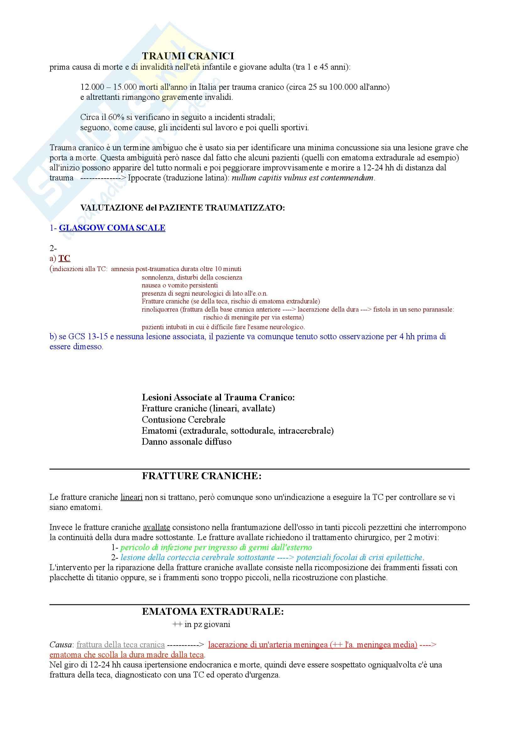 appunto S. Sorbi Neurologia