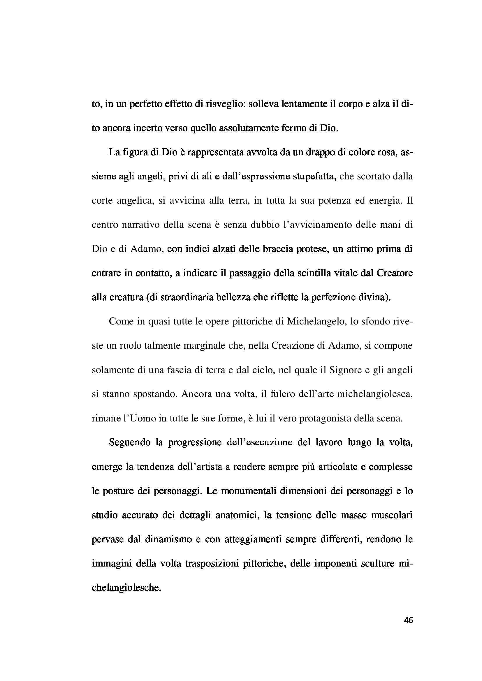 Tesi - Cappella Sistina Pag. 46