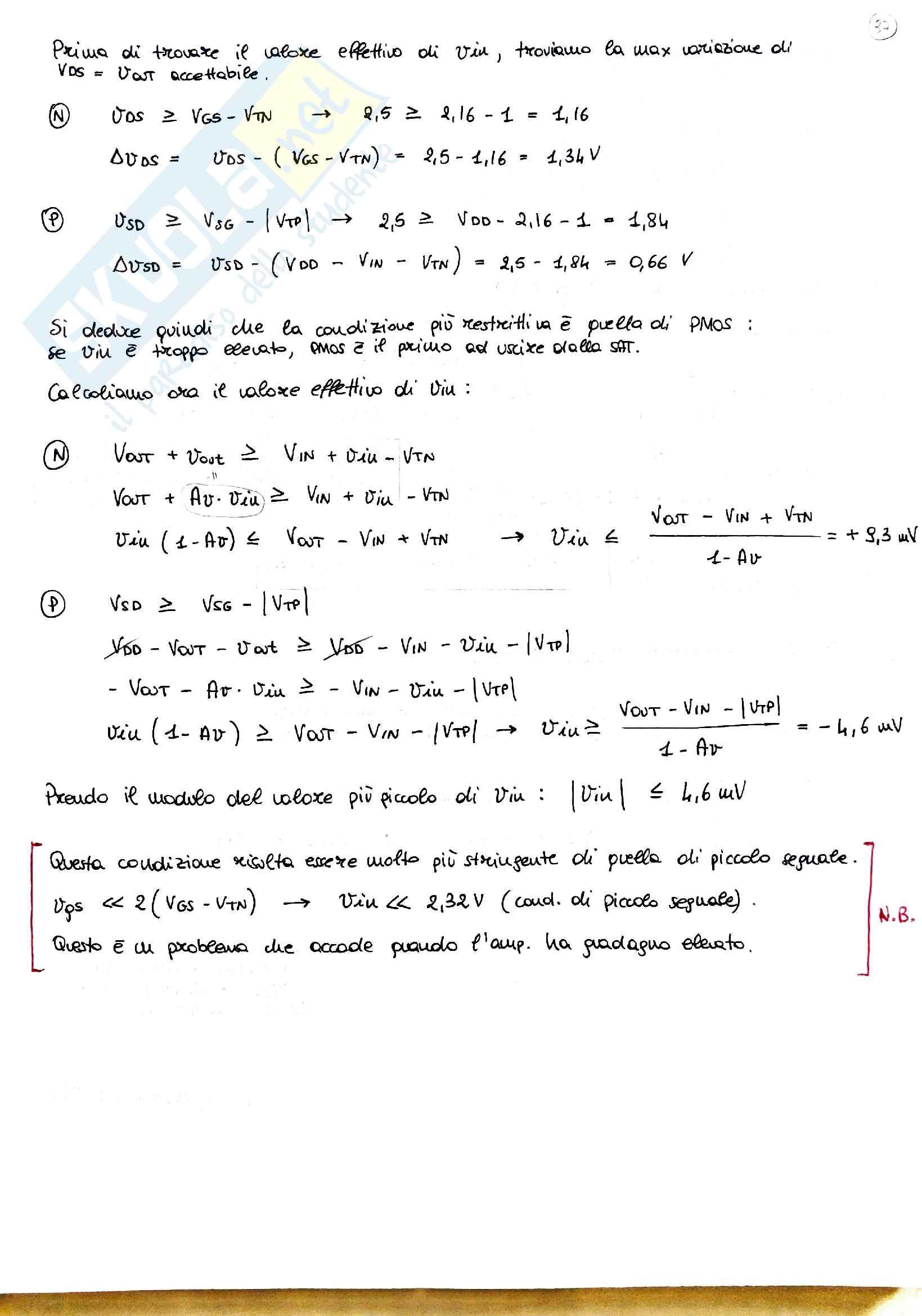Fondamenti di elettronica Pag. 36