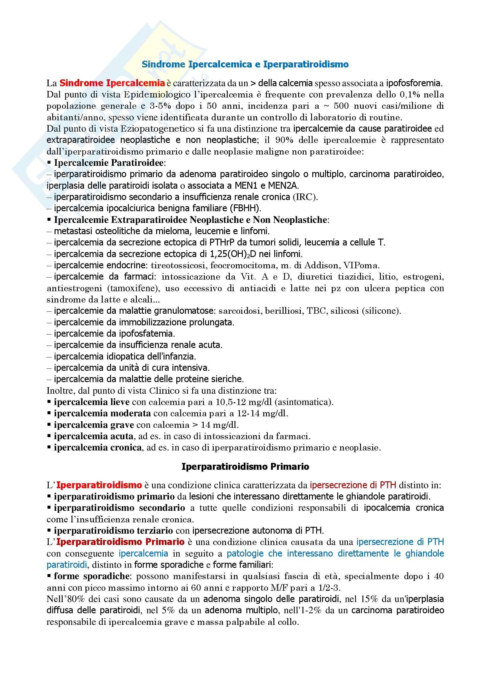 Medicina Interna I - Dispensa Medicina Interna I Pag. 2