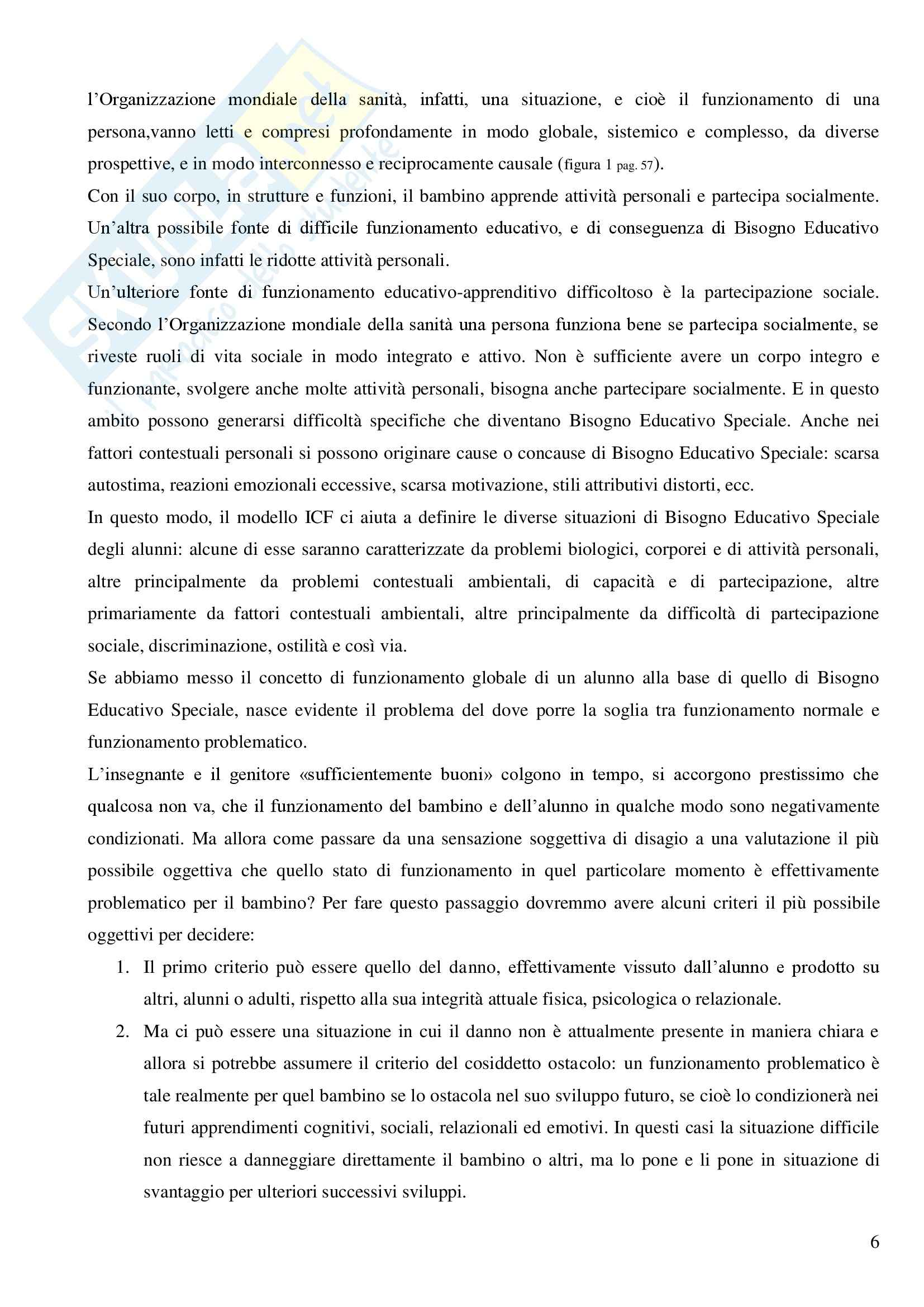 Index per l'inclusione Pag. 6